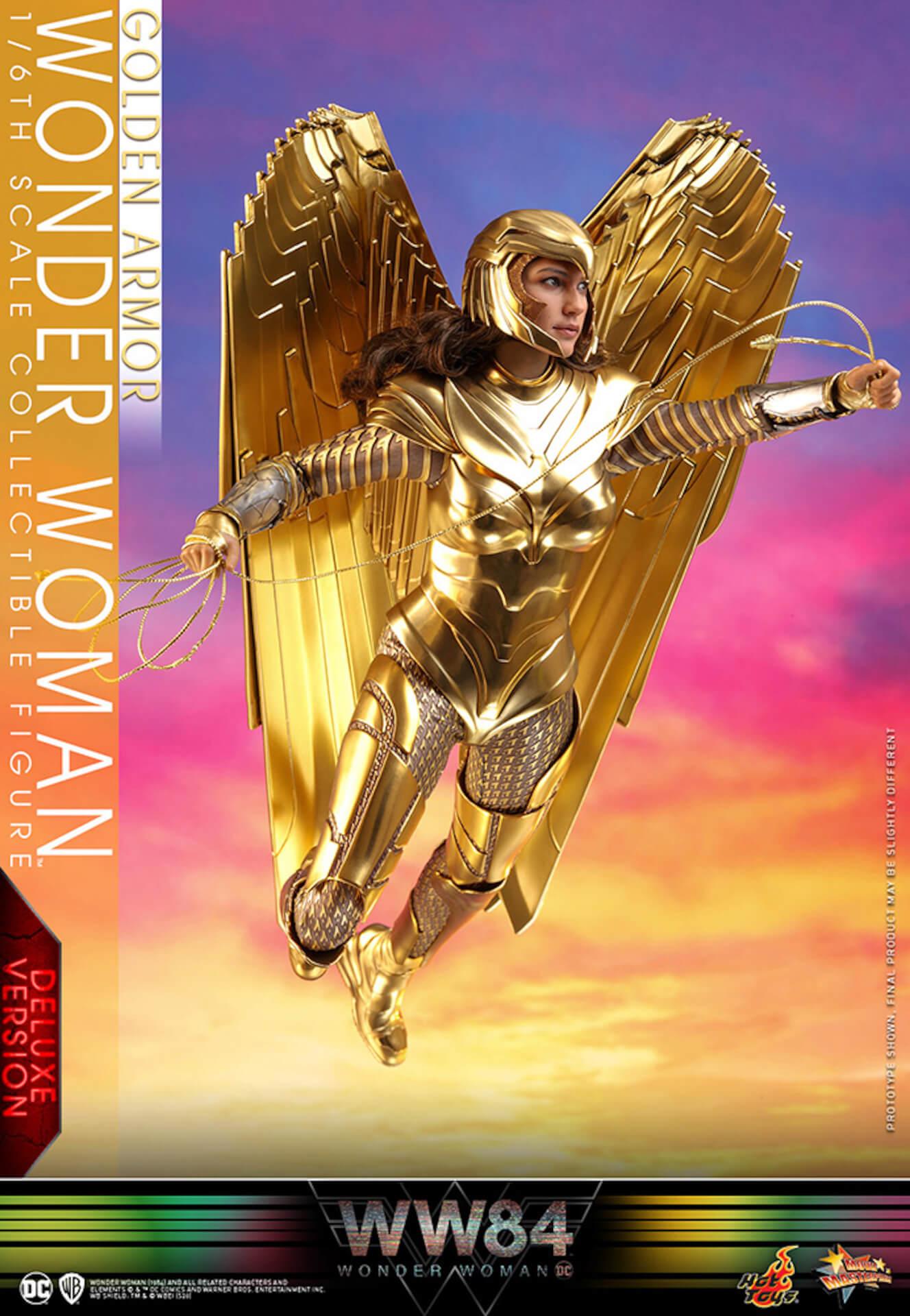 最新作『ワンダーウーマン 1984』からゴールドアーマー装着のワンダーウーマンフィギュアがホットトイズで登場! art200528_ww_hottoys_2