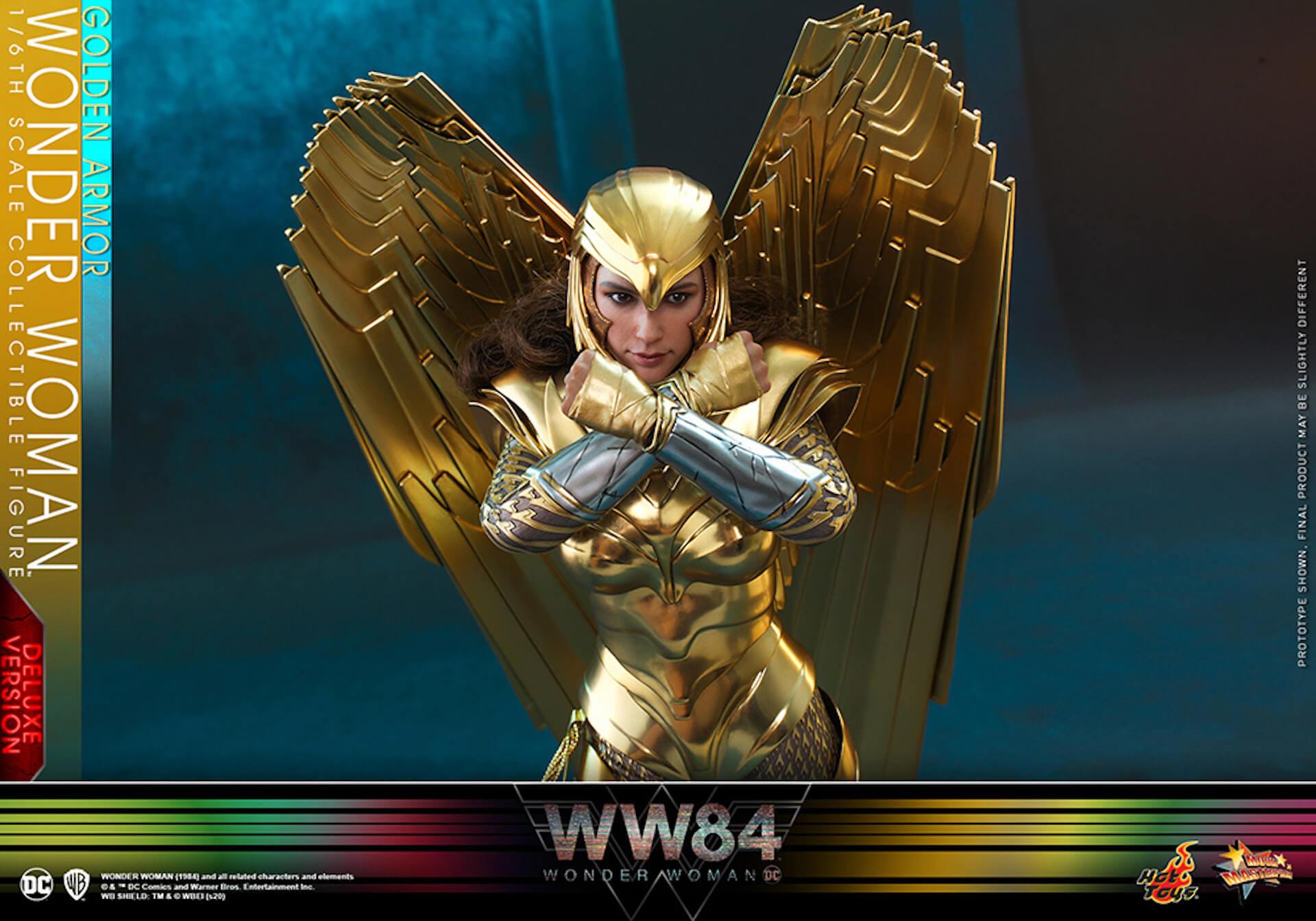 最新作『ワンダーウーマン 1984』からゴールドアーマー装着のワンダーウーマンフィギュアがホットトイズで登場! art200528_ww_hottoys_3