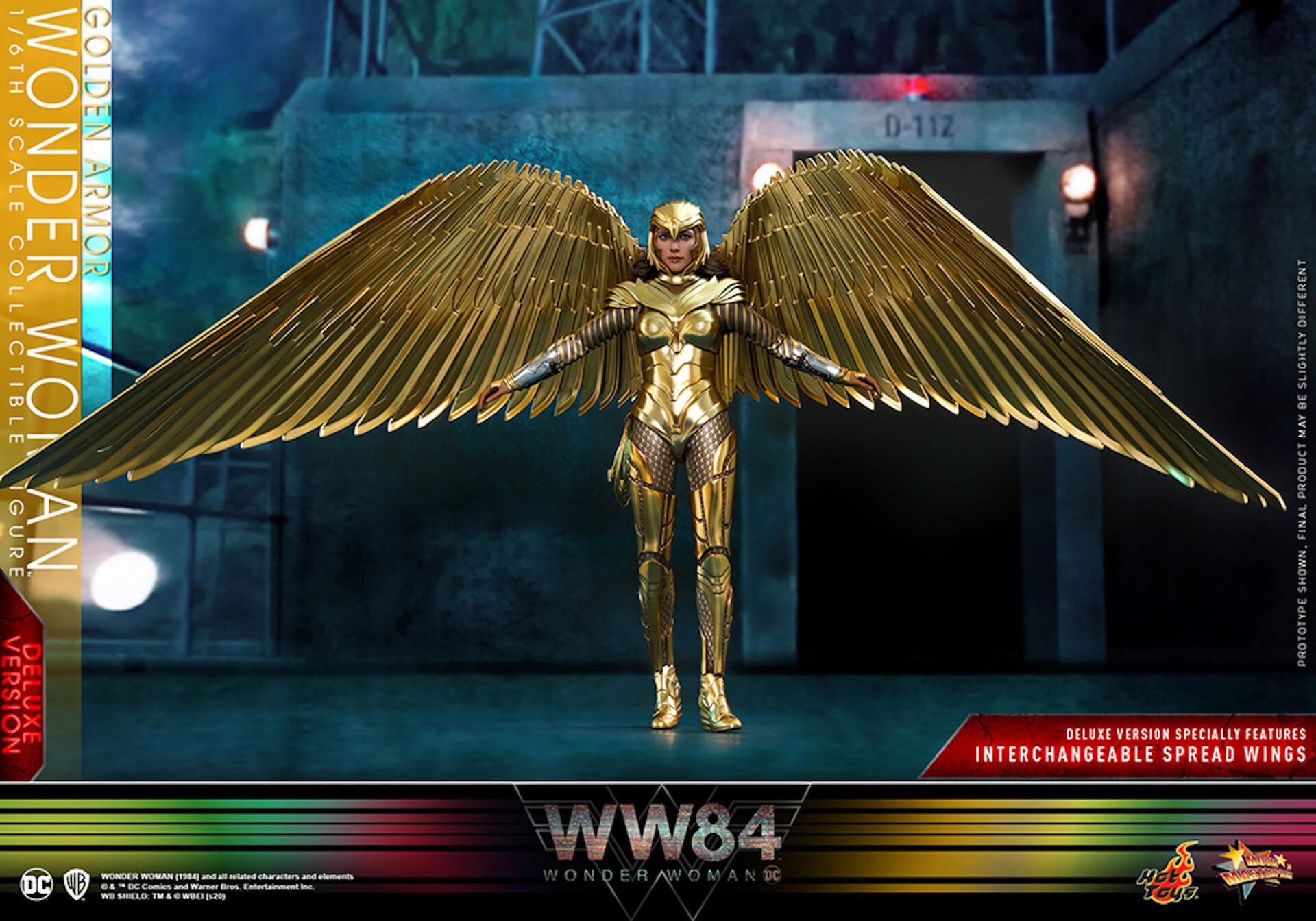 最新作『ワンダーウーマン 1984』からゴールドアーマー装着のワンダーウーマンフィギュアがホットトイズで登場! art200528_ww_hottoys_4