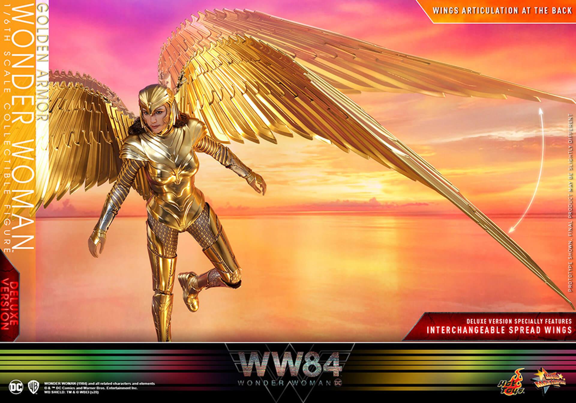 最新作『ワンダーウーマン 1984』からゴールドアーマー装着のワンダーウーマンフィギュアがホットトイズで登場! art200528_ww_hottoys_5