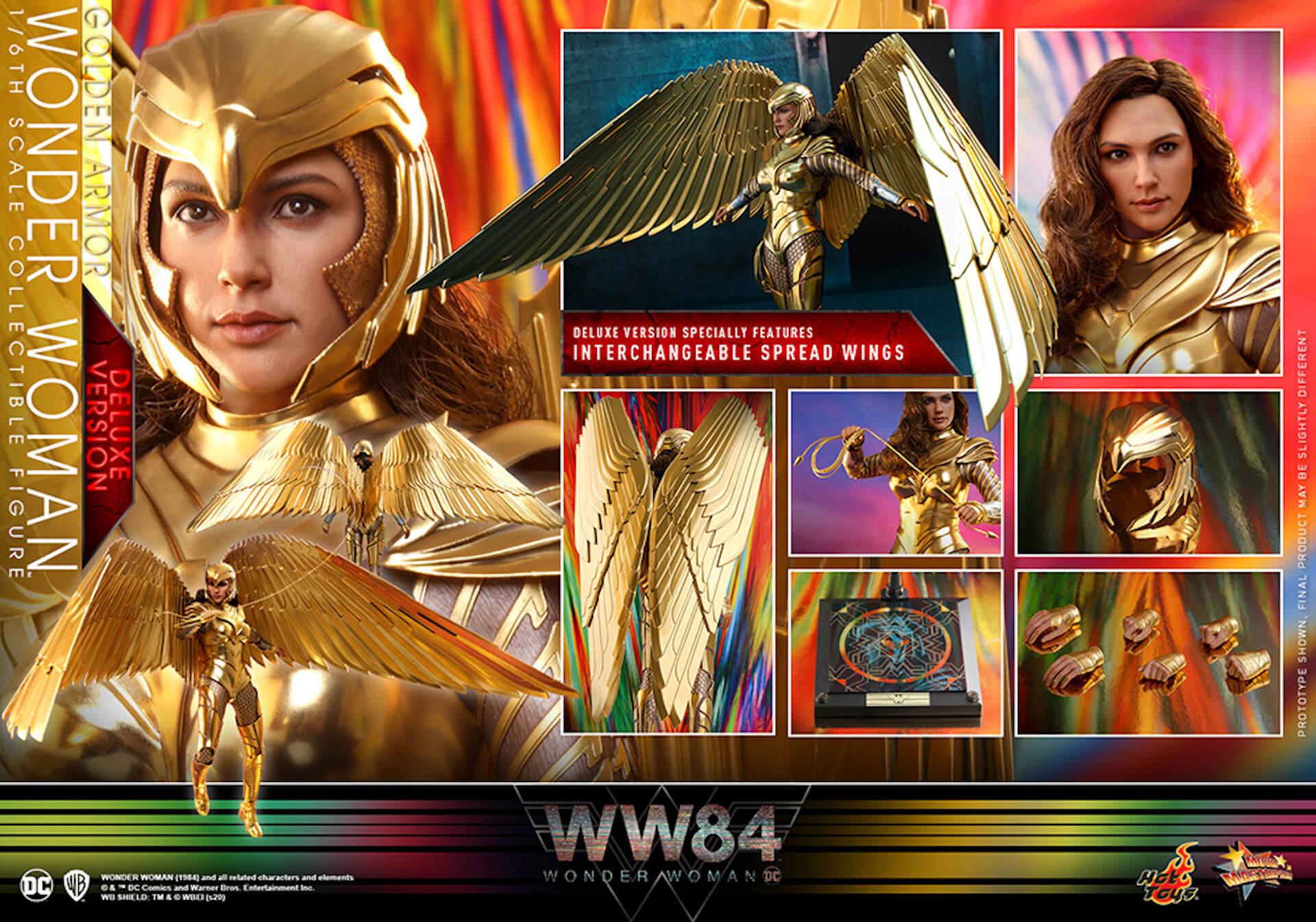 最新作『ワンダーウーマン 1984』からゴールドアーマー装着のワンダーウーマンフィギュアがホットトイズで登場! art200528_ww_hottoys_8