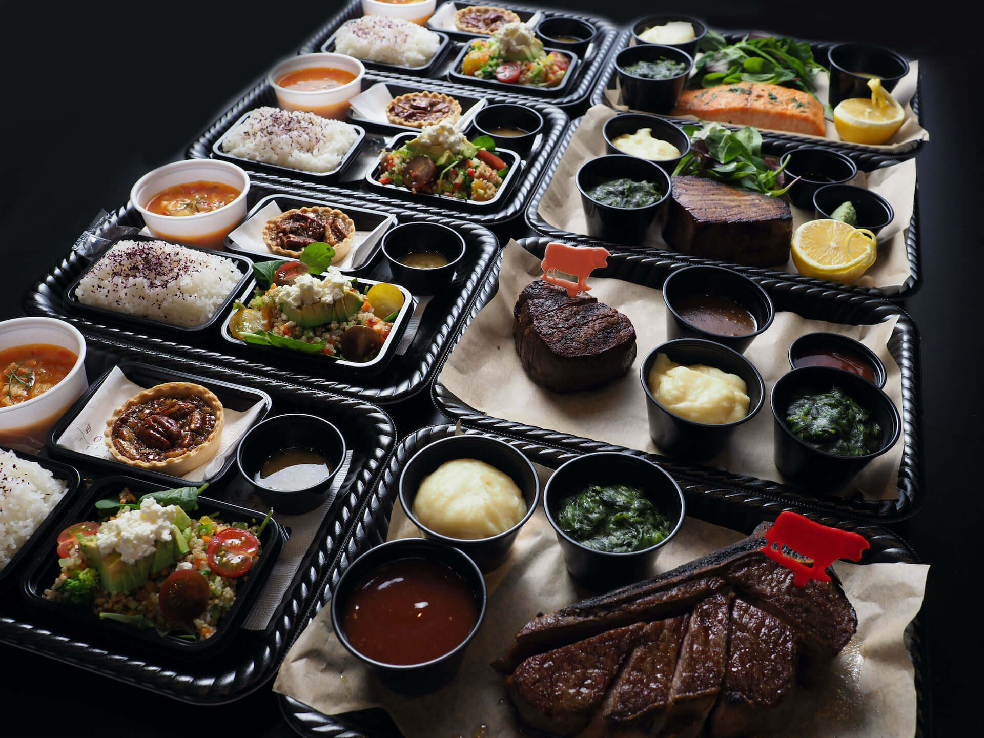 """おうちご飯に""""プライムグレード""""のお肉を!NY発ウルフギャング・ステーキハウスの弁当がテイクアウト限定で発売 gourmet200529_wolfgang_steak_1-1920x1440"""