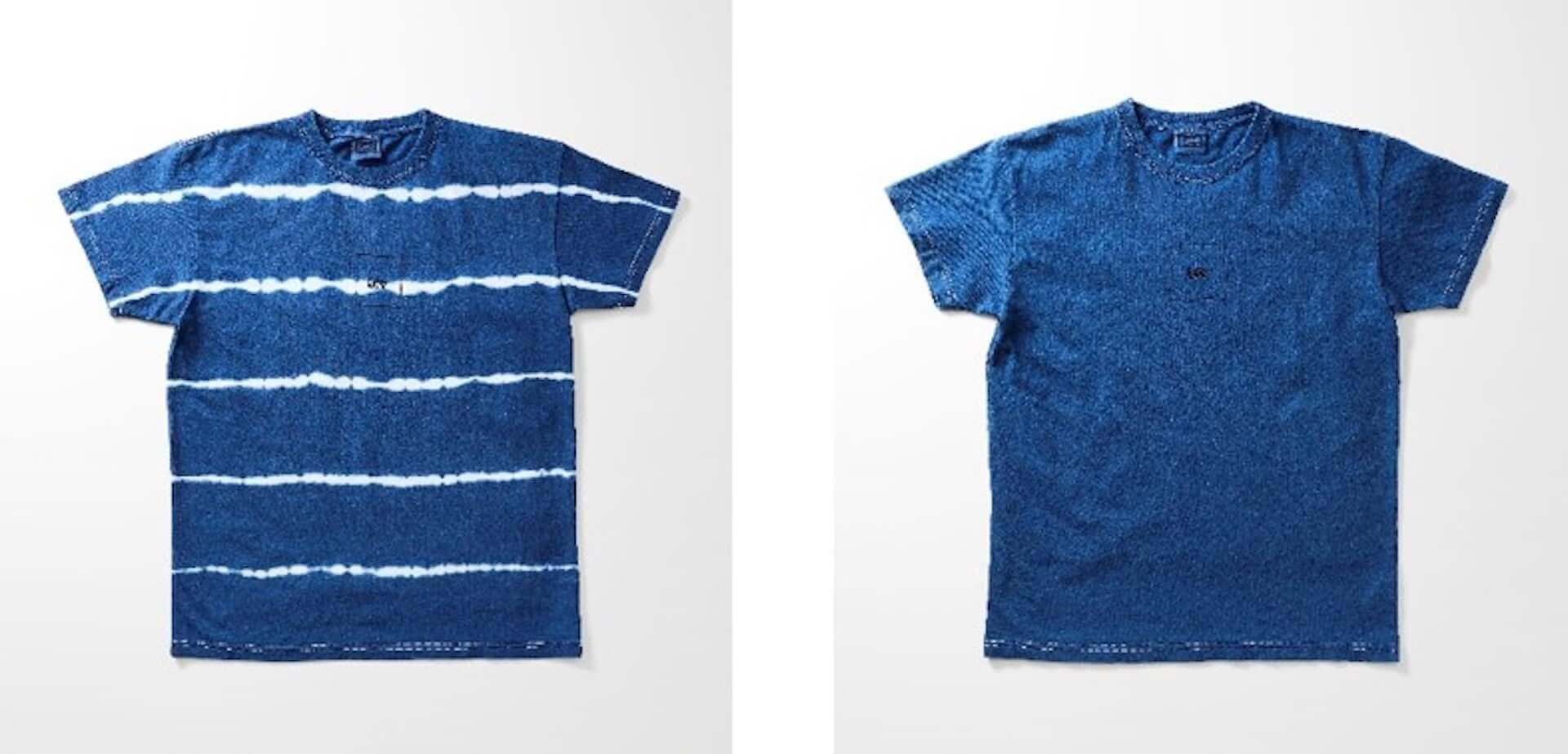Lee原宿店で今夏注目の天然インディゴ染めTシャツやジャケットが移転1周年記念限定発売! lf200529_lee_indigo_3-1920x923