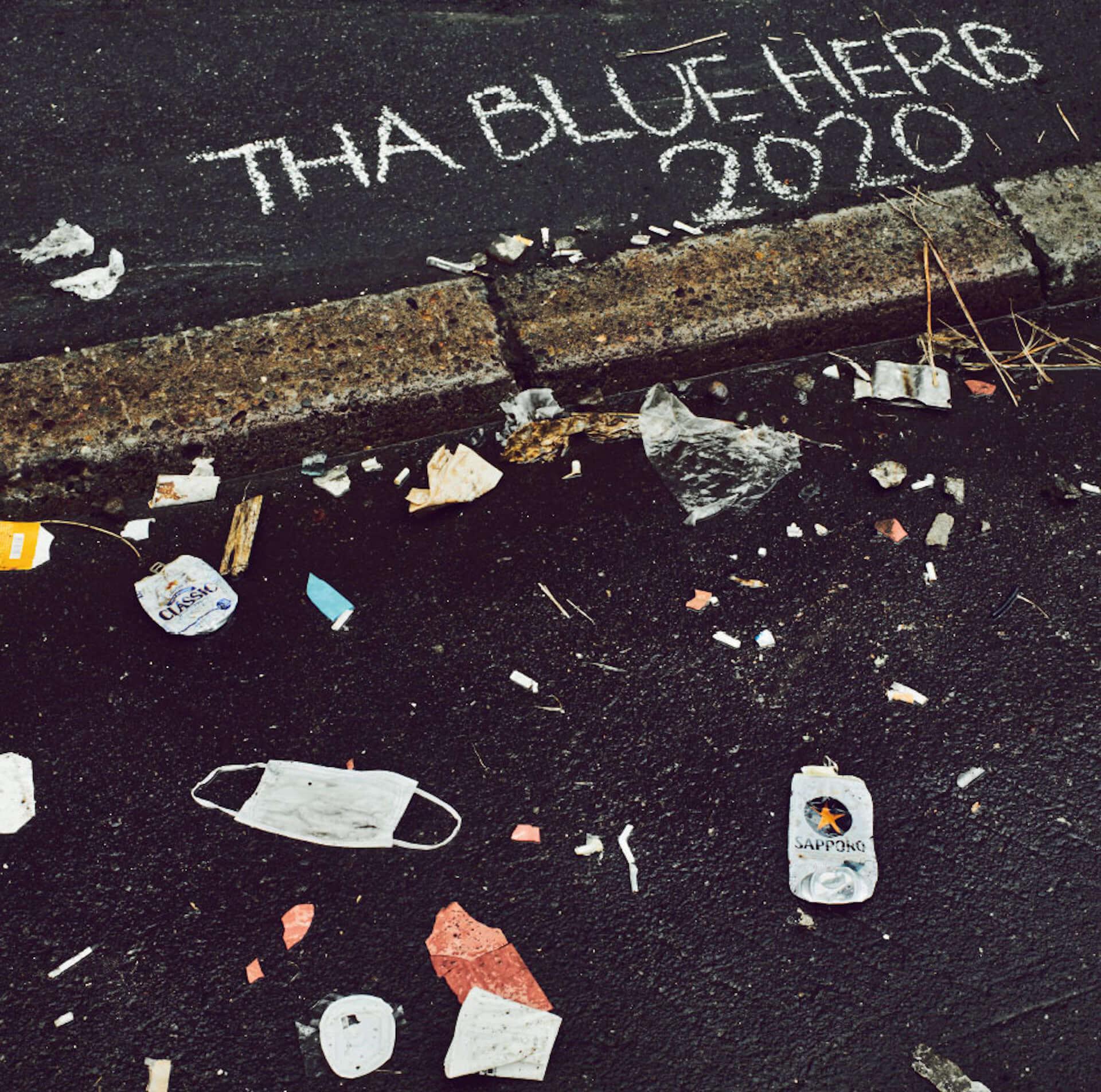 THA BLUE HERBの1年振りの最新作『2020』が発売決定|「遠ざかってしまったかつての日常を、曲にしました」 music200601_thablueherb_2-1920x1904