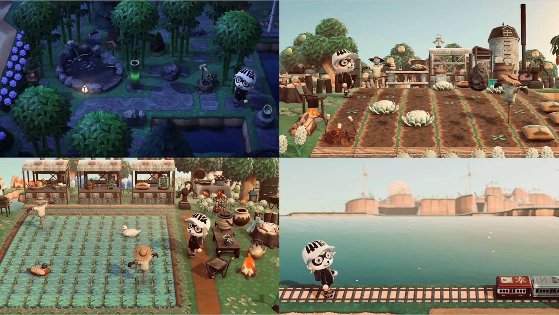 あつ森のユニーク島が勢ぞろい!GameWithによる『あつまれどうぶつの森』のStayHome企画のコンテスト入賞者が発表 tech200602_animalcrossing_6
