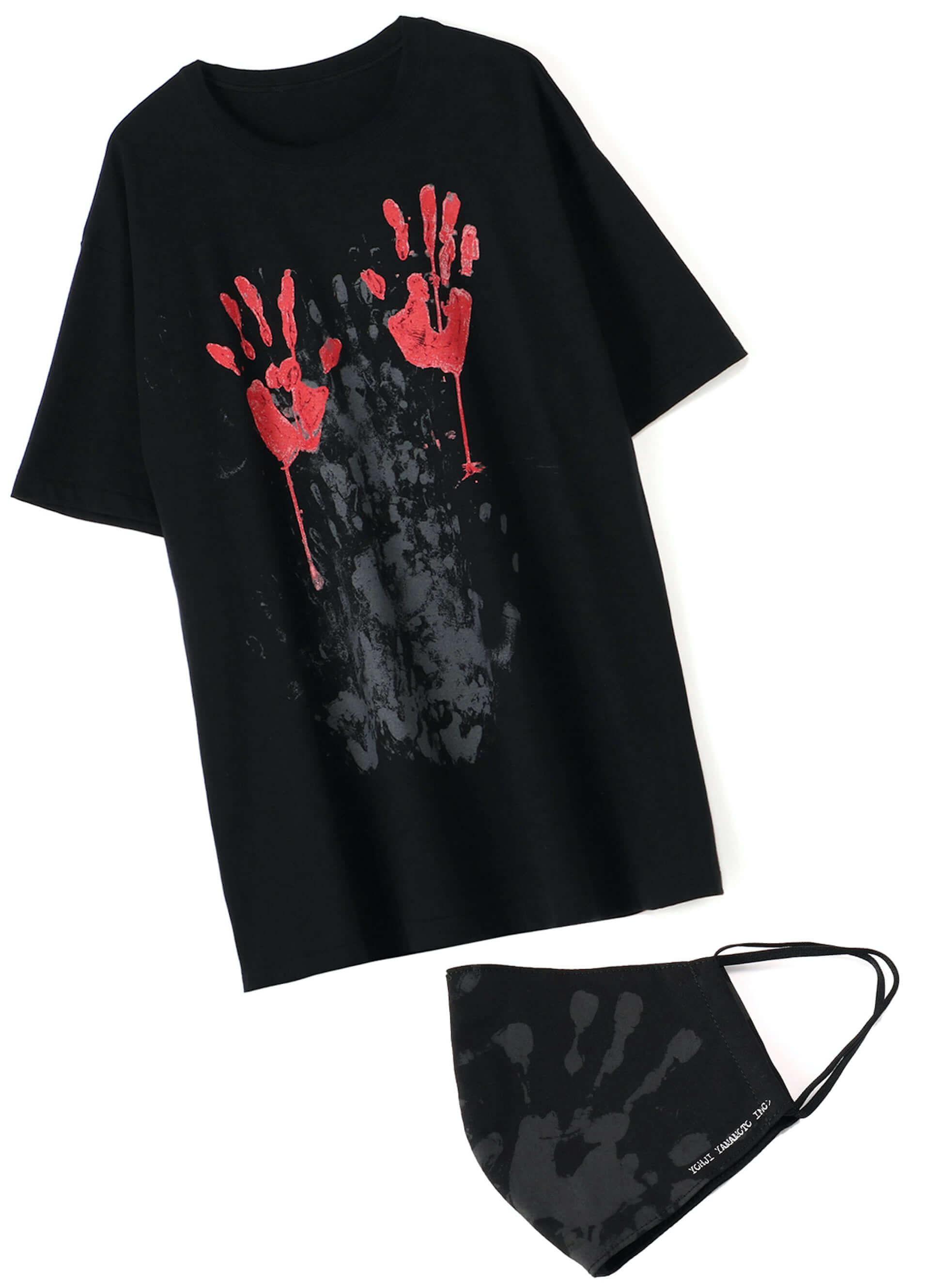YOHJI YAMAMOTO +NOIRと画家 内田すずめがコラボした「Tシャツ+マスク」が限定販売!鳩や手の平のモチーフ3型 lf200604_yohjiyamamoto_03-1920x2658