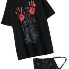 yohji マスク Tシャツ