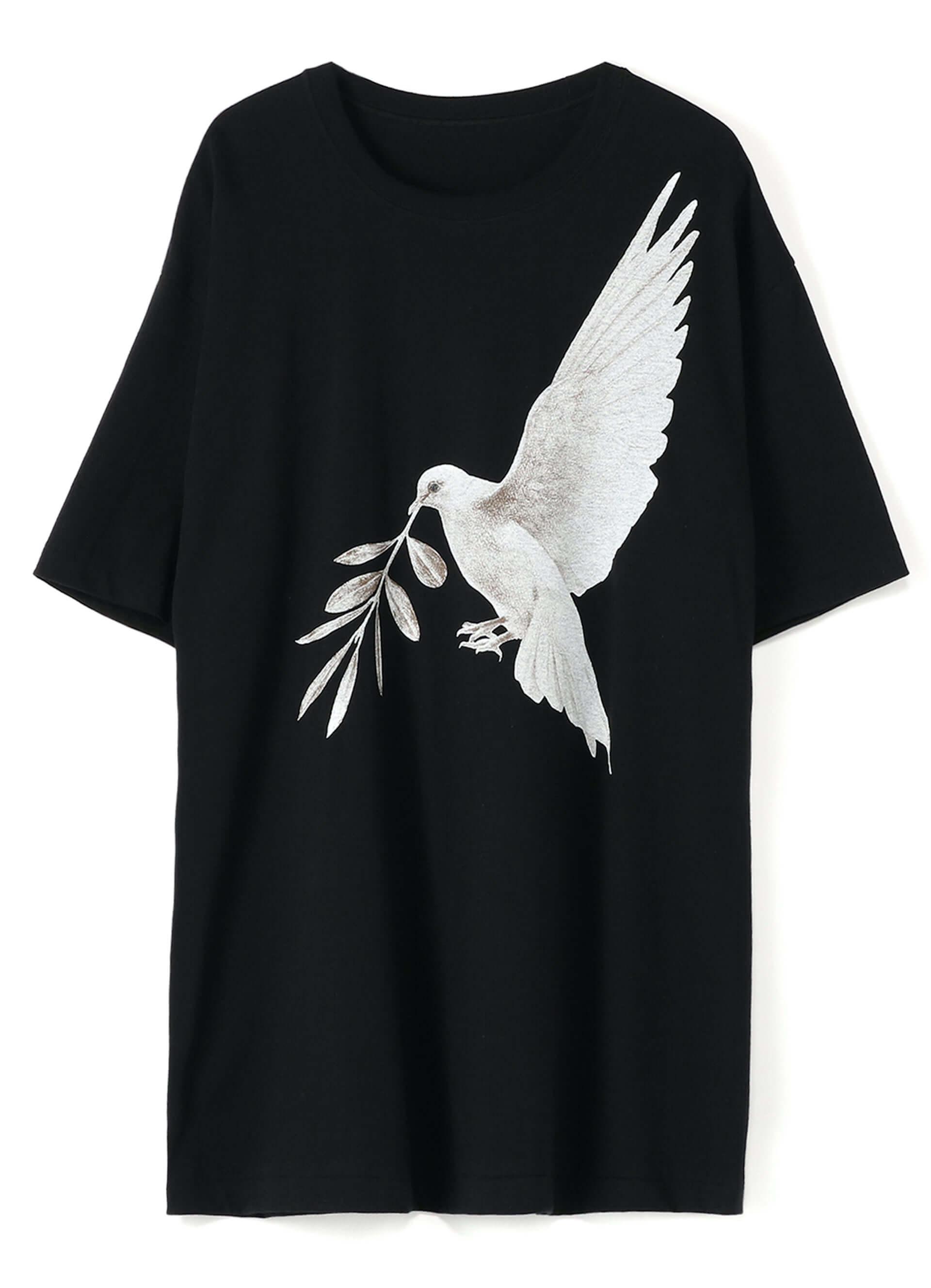 YOHJI YAMAMOTO +NOIRと画家 内田すずめがコラボした「Tシャツ+マスク」が限定販売!鳩や手の平のモチーフ3型 lf200604_yohjiyamamoto_04-1920x2658