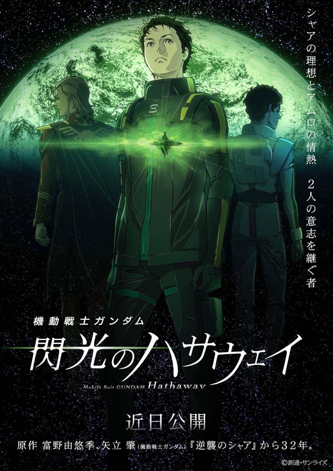 『機動戦士ガンダム 閃光のハサウェイ』の公開が延期に|サンライズからコメントも発表 film200604_gundam_hathaway_2