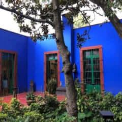 フリーダ・カーロ「青の家」(メキシコシティ)