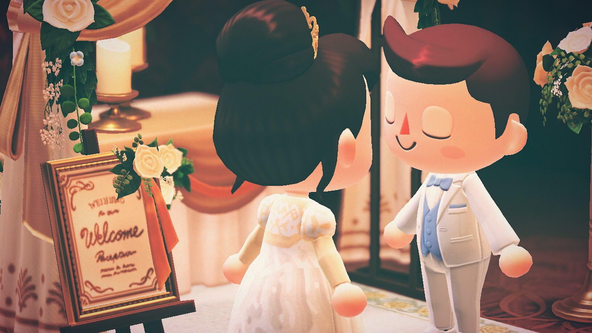 あつ森でYumi Katsuraのウエディングドレスを着て結婚式を挙げよう!?『あつまれ どうぶつの森』マイデザインが公式Instgramで配布開始 tech200608_animalcrossing_3