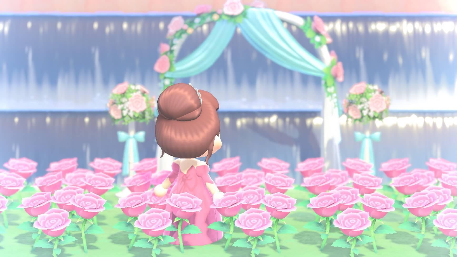 あつ森でYumi Katsuraのウエディングドレスを着て結婚式を挙げよう!?『あつまれ どうぶつの森』マイデザインが公式Instgramで配布開始 tech200608_animalcrossing_6