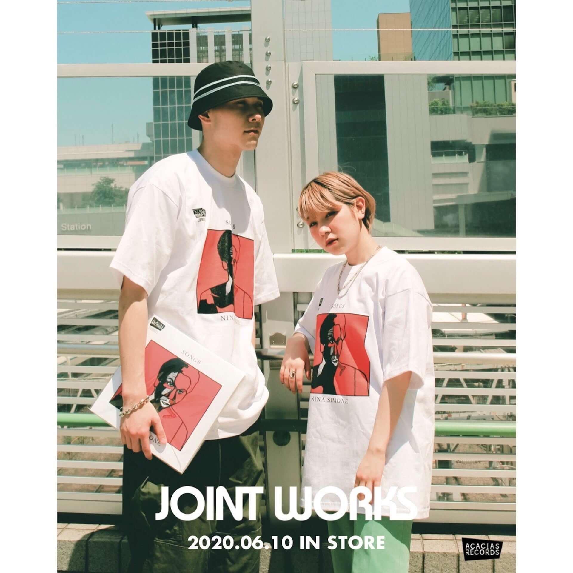 架空のレコードショップ・ACACIAS RECORDSのTシャツがJOINT WORKSにて販売決定|先着でステッカーもプレゼント lf200609_acaciasrecords_3-1920x1920