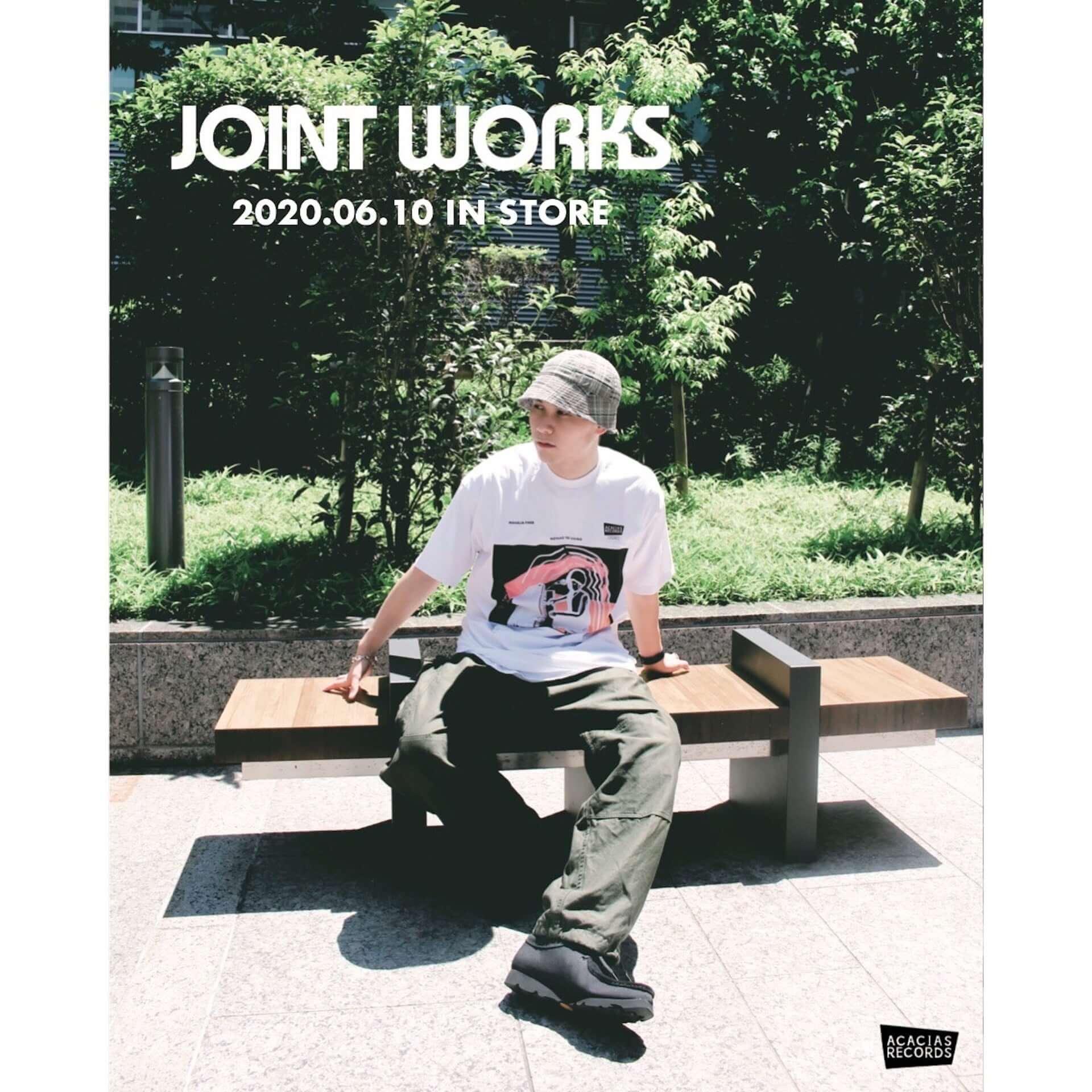 架空のレコードショップ・ACACIAS RECORDSのTシャツがJOINT WORKSにて販売決定|先着でステッカーもプレゼント lf200609_acaciasrecords_4-1920x1920