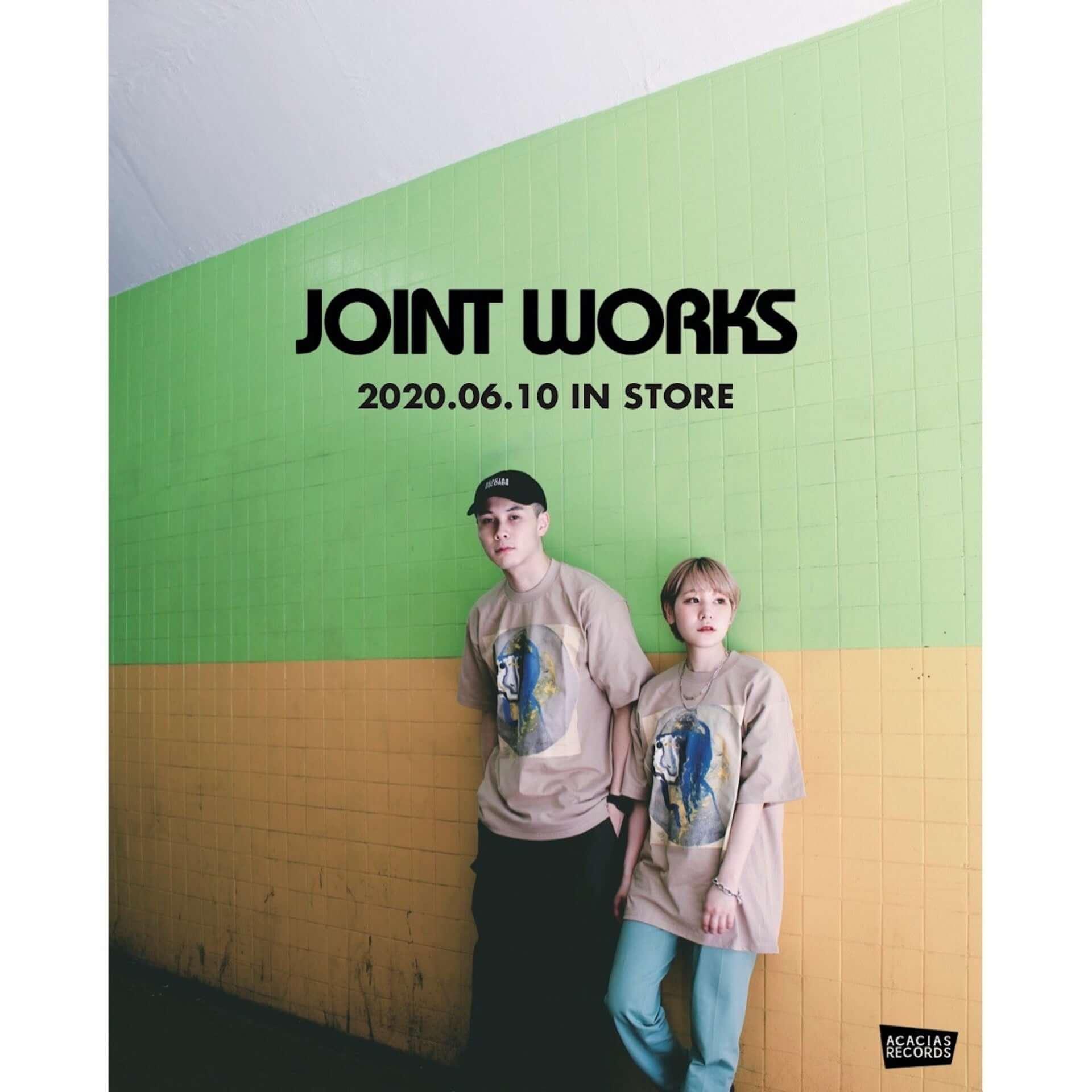 架空のレコードショップ・ACACIAS RECORDSのTシャツがJOINT WORKSにて販売決定|先着でステッカーもプレゼント lf200609_acaciasrecords_5-1920x1920