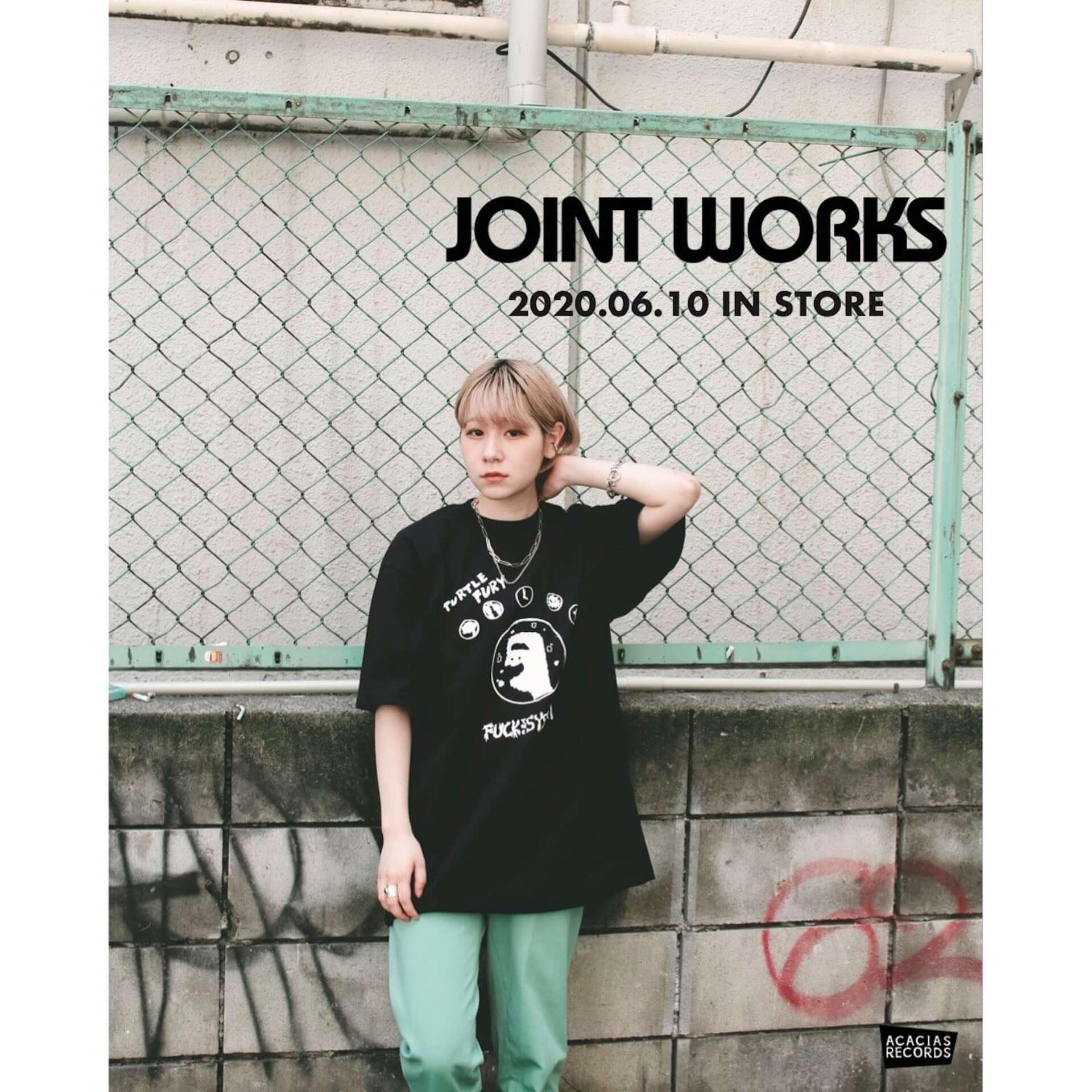 架空のレコードショップ・ACACIAS RECORDSのTシャツがJOINT WORKSにて販売決定|先着でステッカーもプレゼント lf200609_acaciasrecords_6-1920x1920