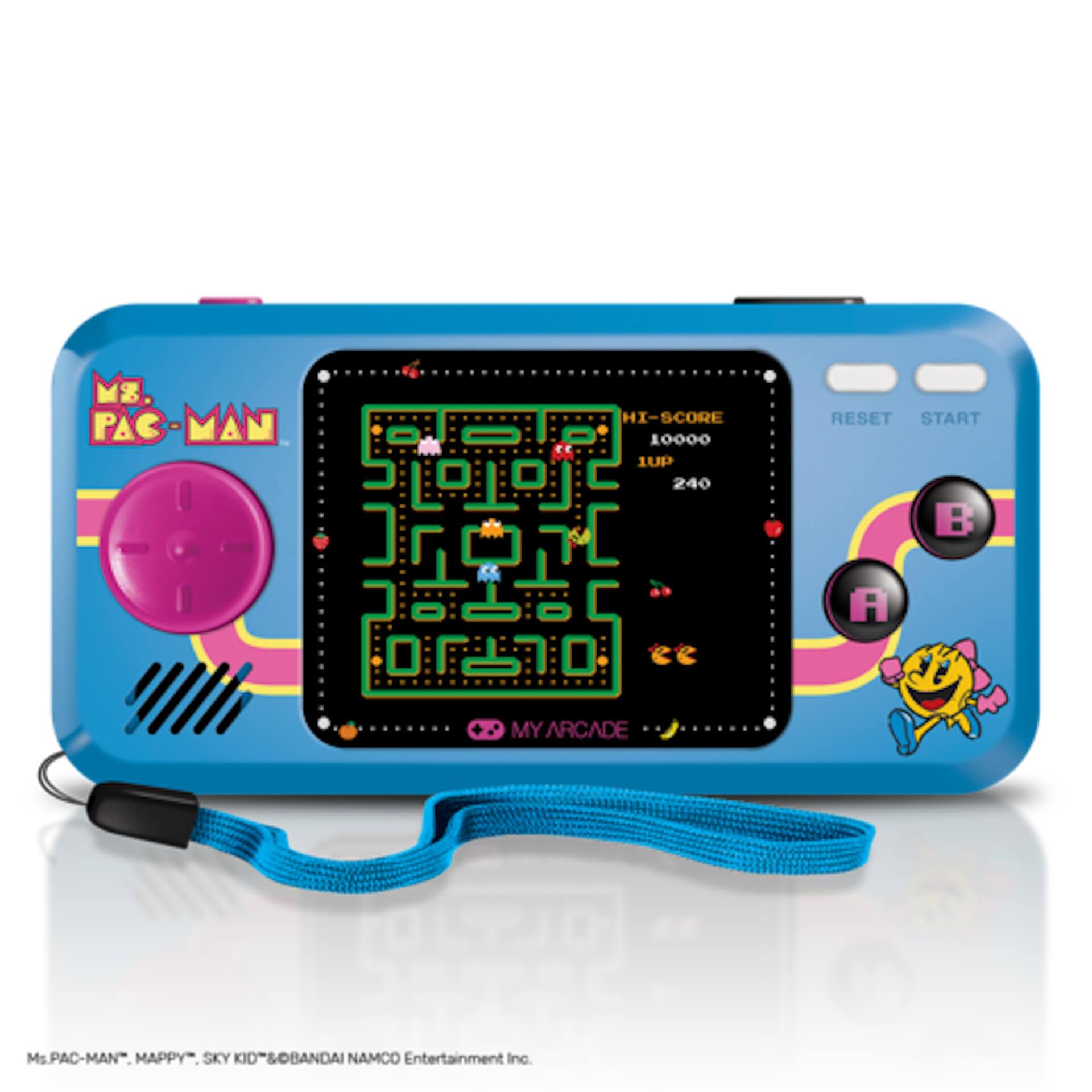 パックマンのミニチュアアーケードが家にやってくる!誕生40周年を記念した小型ゲーム機が続々登場 tech200610_pacman_1