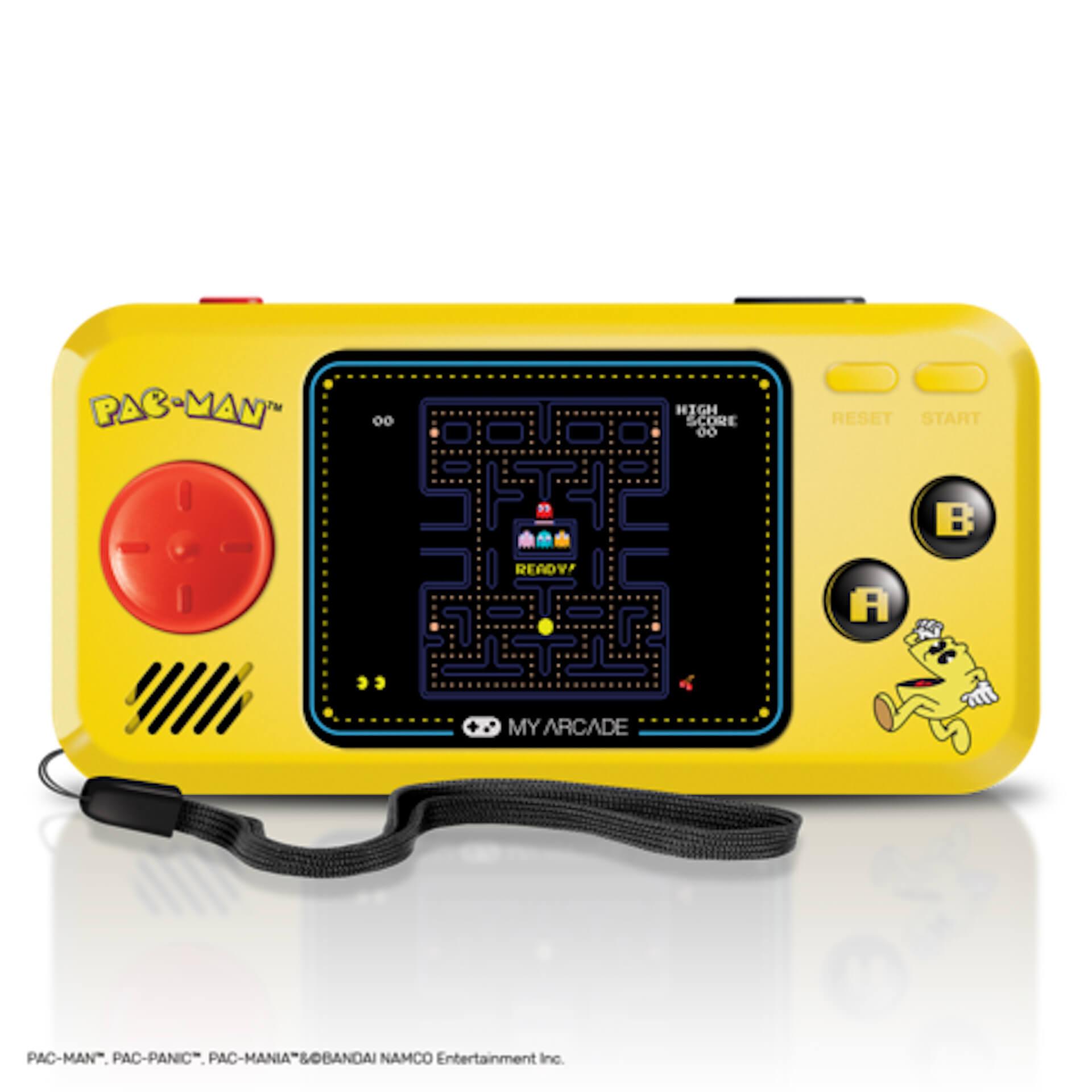 パックマンのミニチュアアーケードが家にやってくる!誕生40周年を記念した小型ゲーム機が続々登場 tech200610_pacman_2