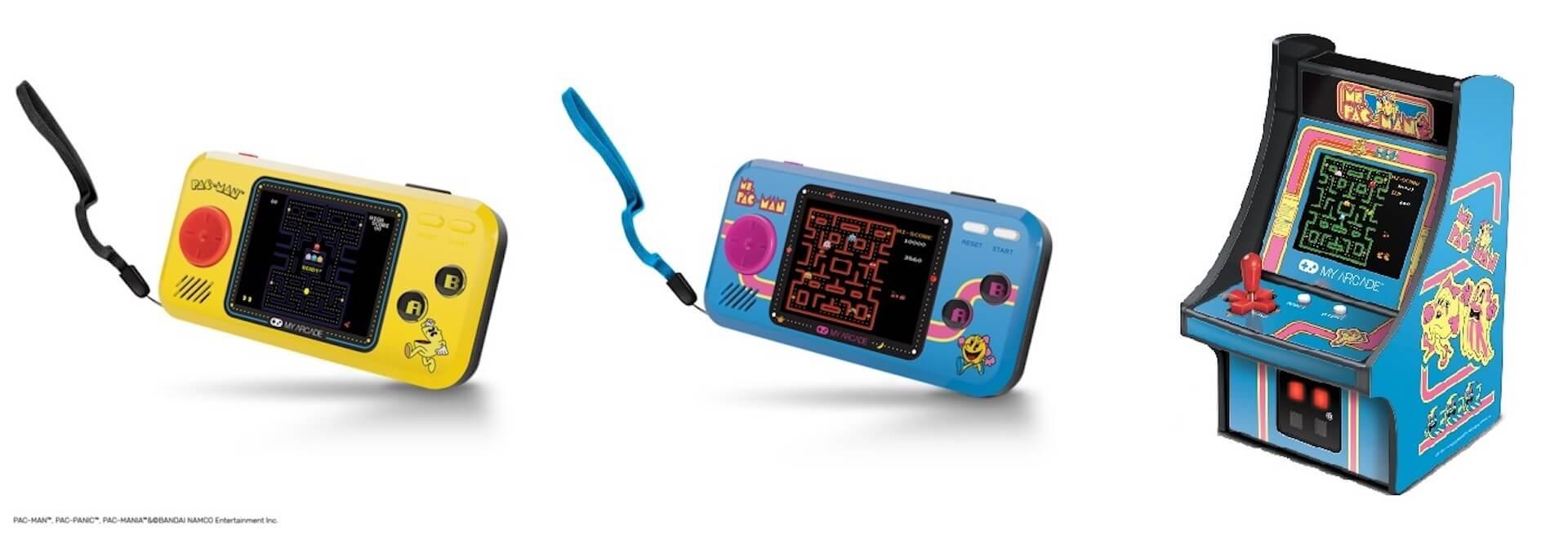 パックマンのミニチュアアーケードが家にやってくる!誕生40周年を記念した小型ゲーム機が続々登場 tech200610_pacman_5