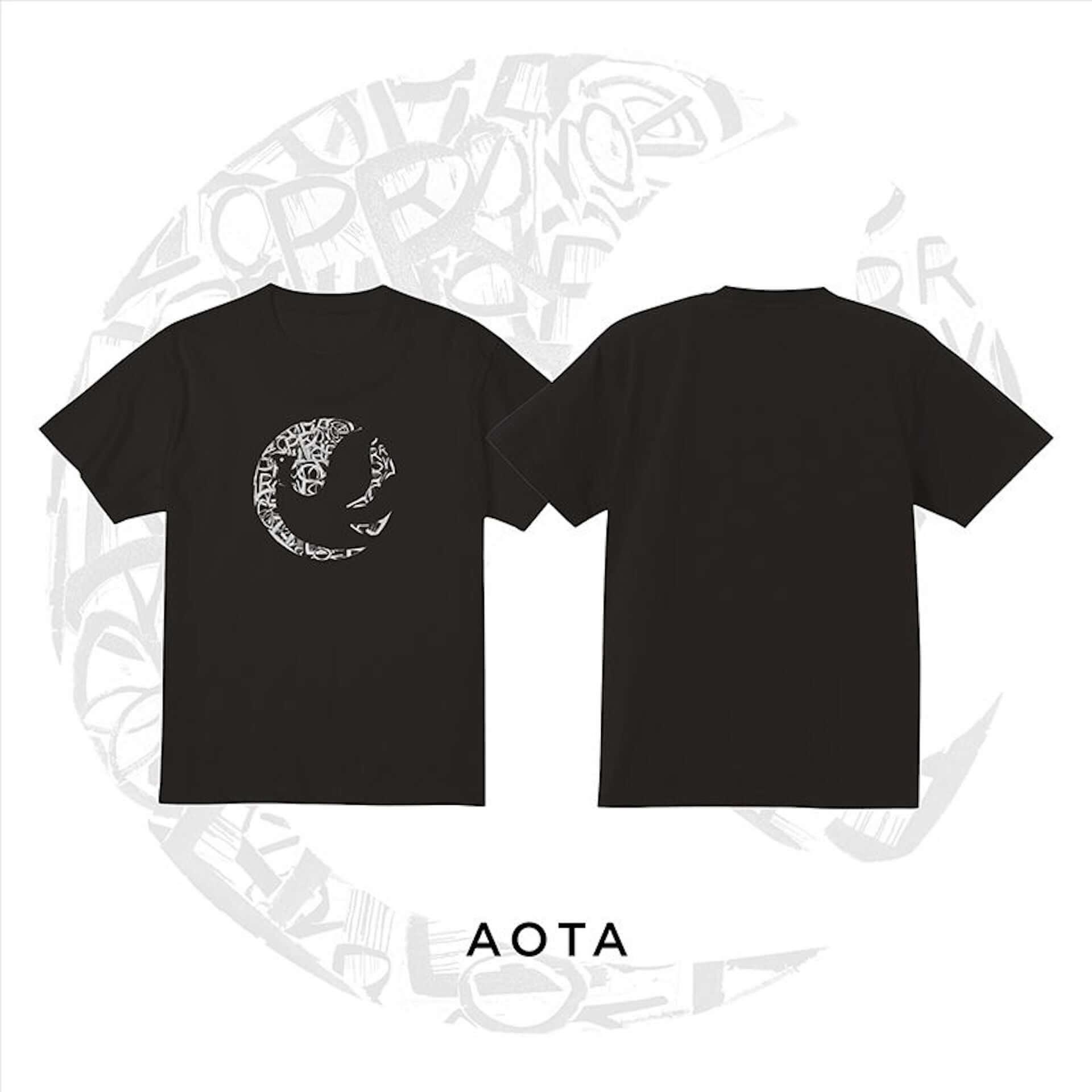 札幌の重要ベニュー・PROVOから新たなデザインTシャツがリリース|YOSHIROTTEN、KURiOら5名が参加 music200610_sapporo_provo_1-1920x1920
