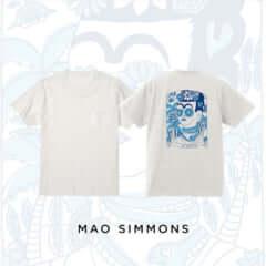 MAO SIMMONS ポケット付 T-shirt