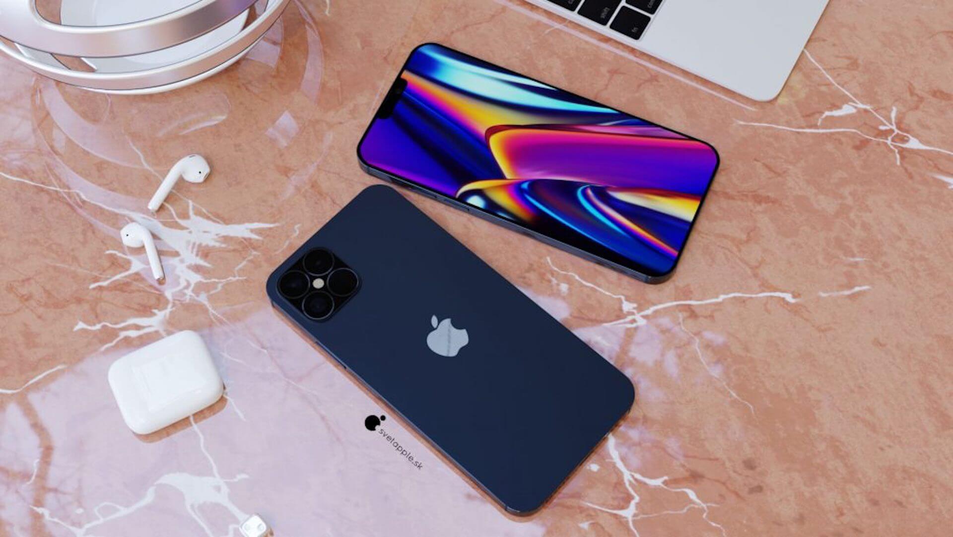 新色ネイビーブルーのiPhone 12 Proはこんなデザイン?最新レンダリング画像が公開 tech200611_iphone12_1