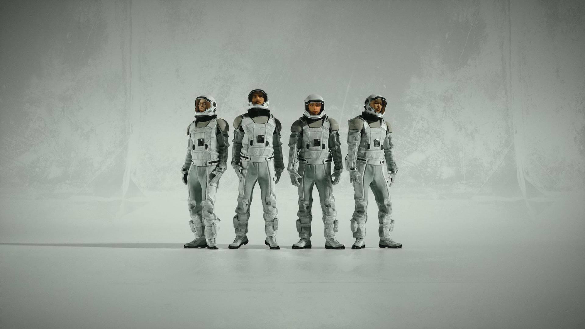 """WONKがニューアルバム『EYES』より""""Rollin'""""の3D CGオーディオビジュアルを公開!NHKにてTV初パフォーマンスも music200611_wonk_03"""
