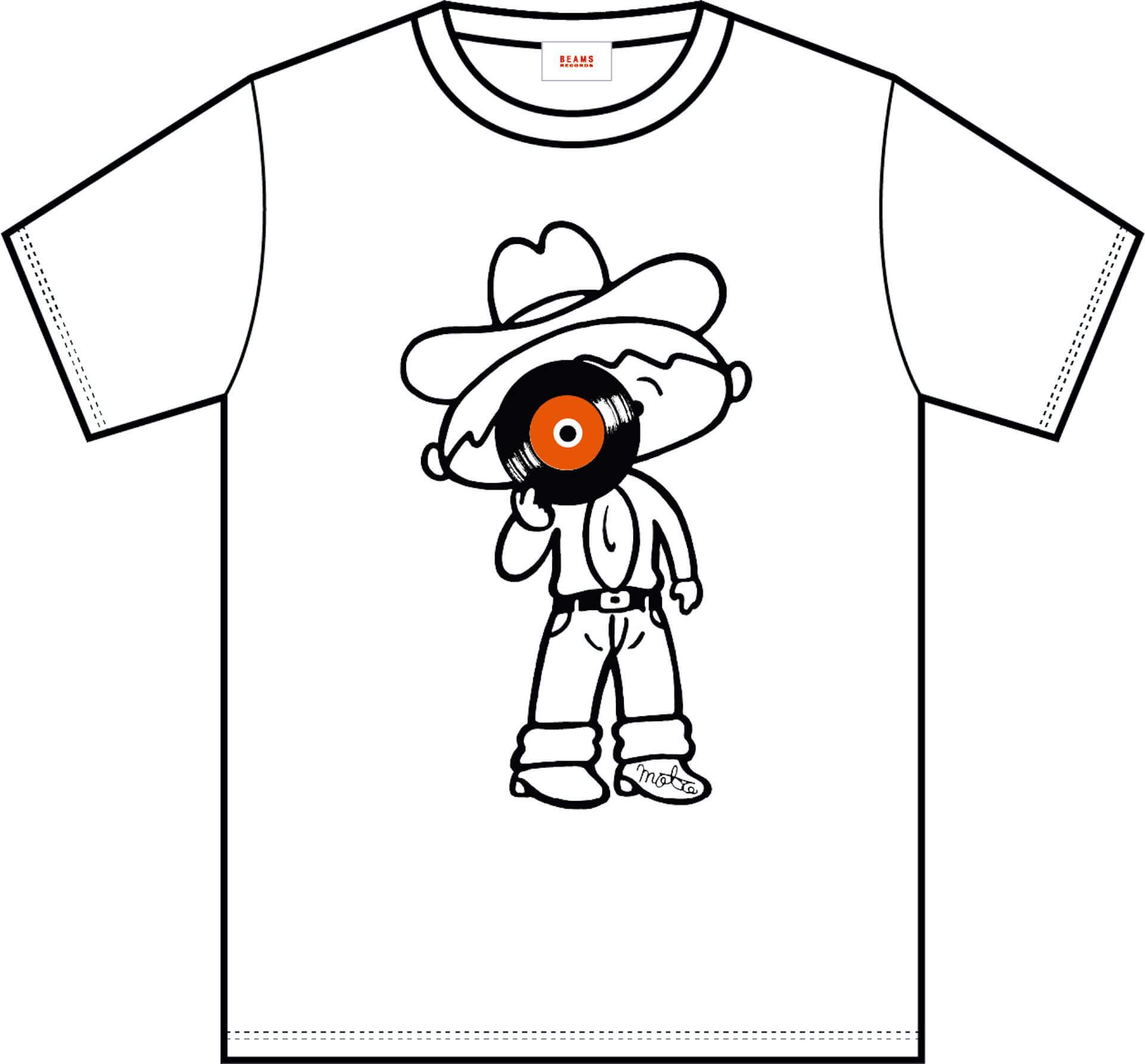 J-WAVE × BEAMS RECORDSのTシャツ第2弾が受注販売開始!本秀康、cherry chill will、TOWA TEIらが参加 music200612_jwave_beamsrecords_01