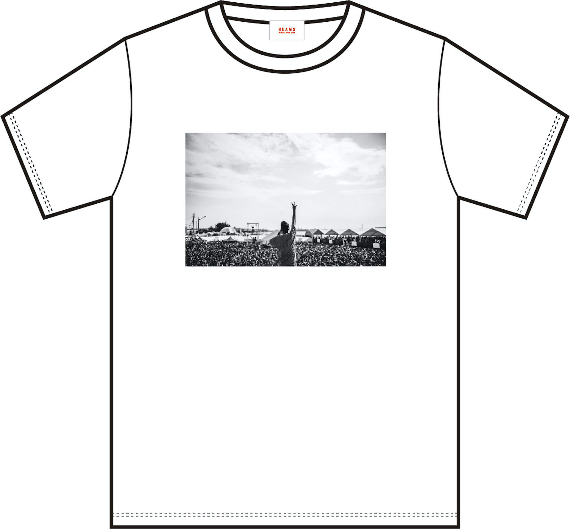 J-WAVE × BEAMS RECORDSのTシャツ第2弾が受注販売開始!本秀康、cherry chill will、TOWA TEIらが参加 music200612_jwave_beamsrecords_02