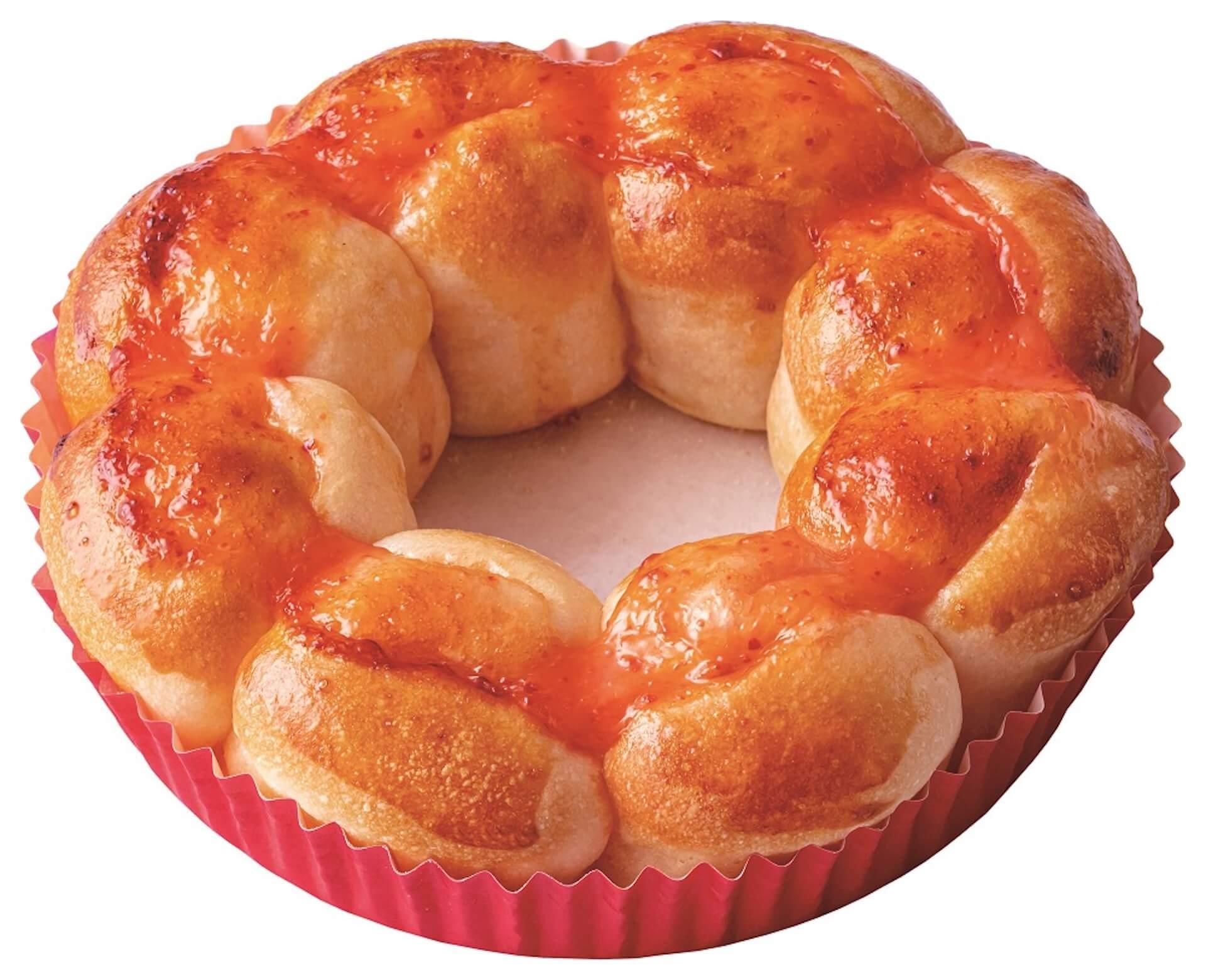 ポン・デ・リングのような新感覚のミスドゴハン!ミスタードーナツで『ポン・デ・ちぎりパン』3種が発売決定 gourmet200616_misterdonuts_1