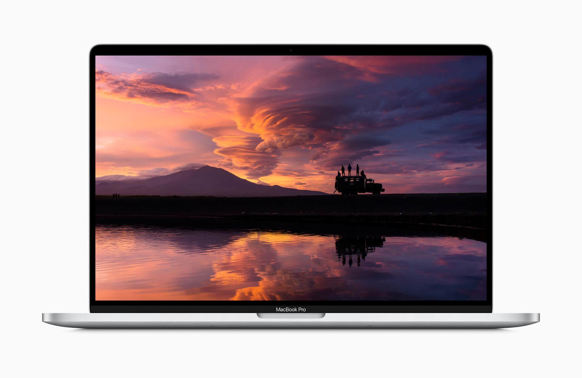 16インチMacBook ProにGPU最高峰のAMD Radeon Pro 5600Mのオプションが追加!HBM2メモリも搭載で高速化 tech200616_macbookpro_main