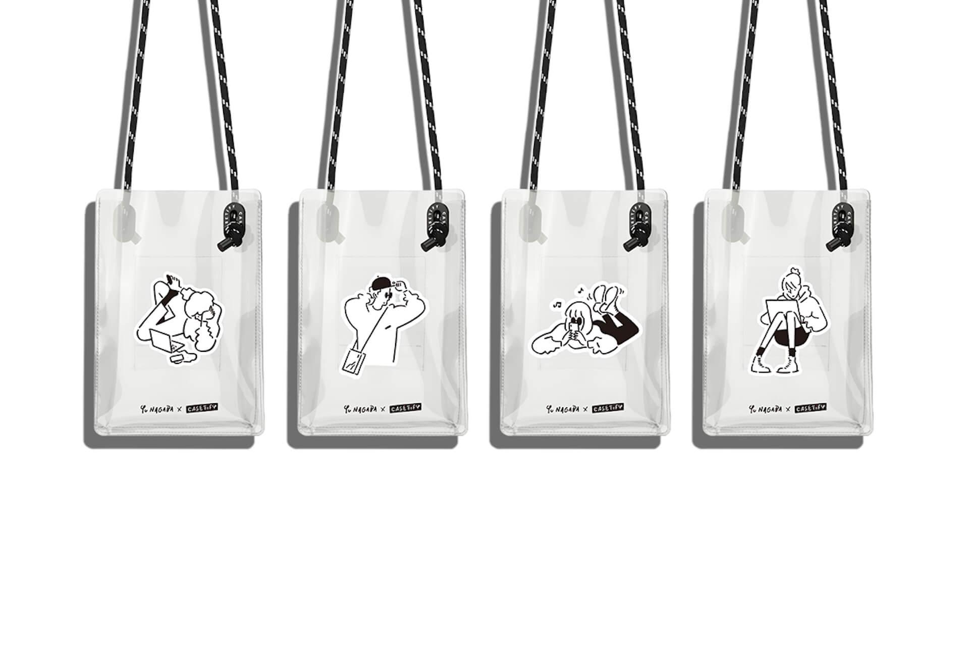 CASETiFYから「Yu Nagaba × CASETiFYコレクション」が登場!描き下ろし手描きフォントのケースや限定アートピース販売も ac200618_castify_yunagaba_09