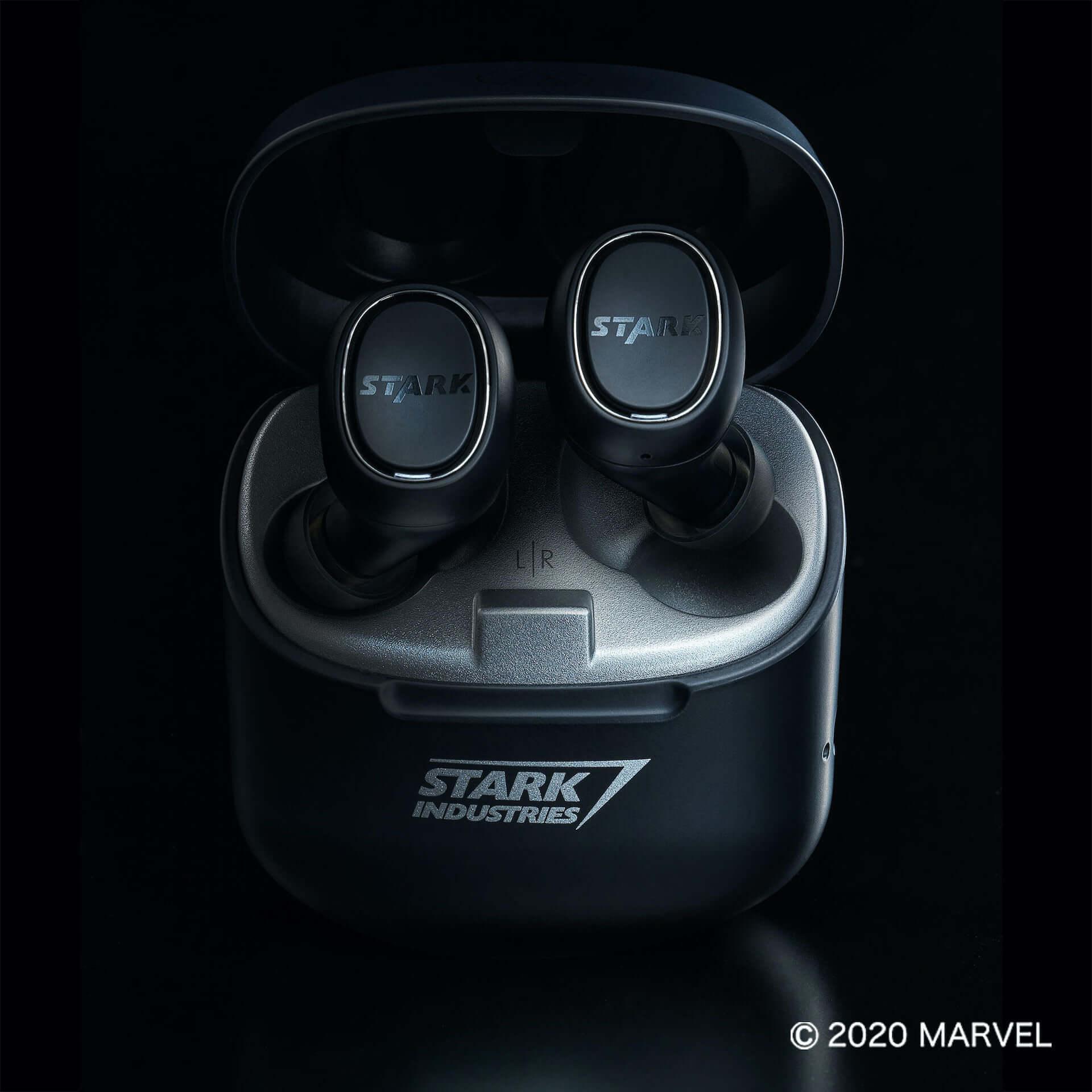 オーディオテクニカ×MARVELによる完全ワイヤレスヘッドホンが国内限定で登場|トニー・スタークが産んだ人工知能の音声ガイドも搭載 tech200619_a-t_marvel_3-1920x1920
