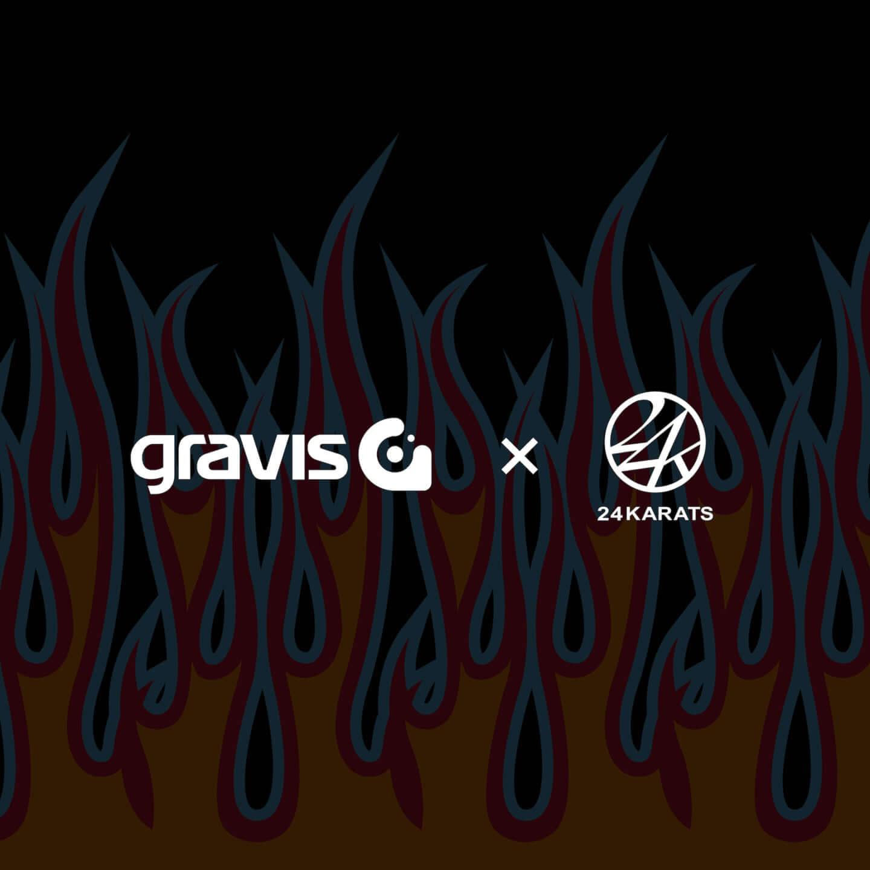 gravisと24KARATSのコラボレーションモデルが新登場。2000年代初期の空気感をイメージ li200618_gravis3-1440x1440