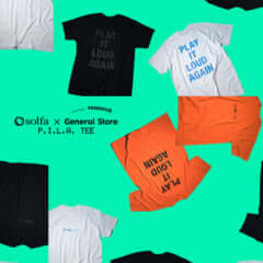 solfa × . . . . . Research GENERAL STORE P.I.L.A. TEE