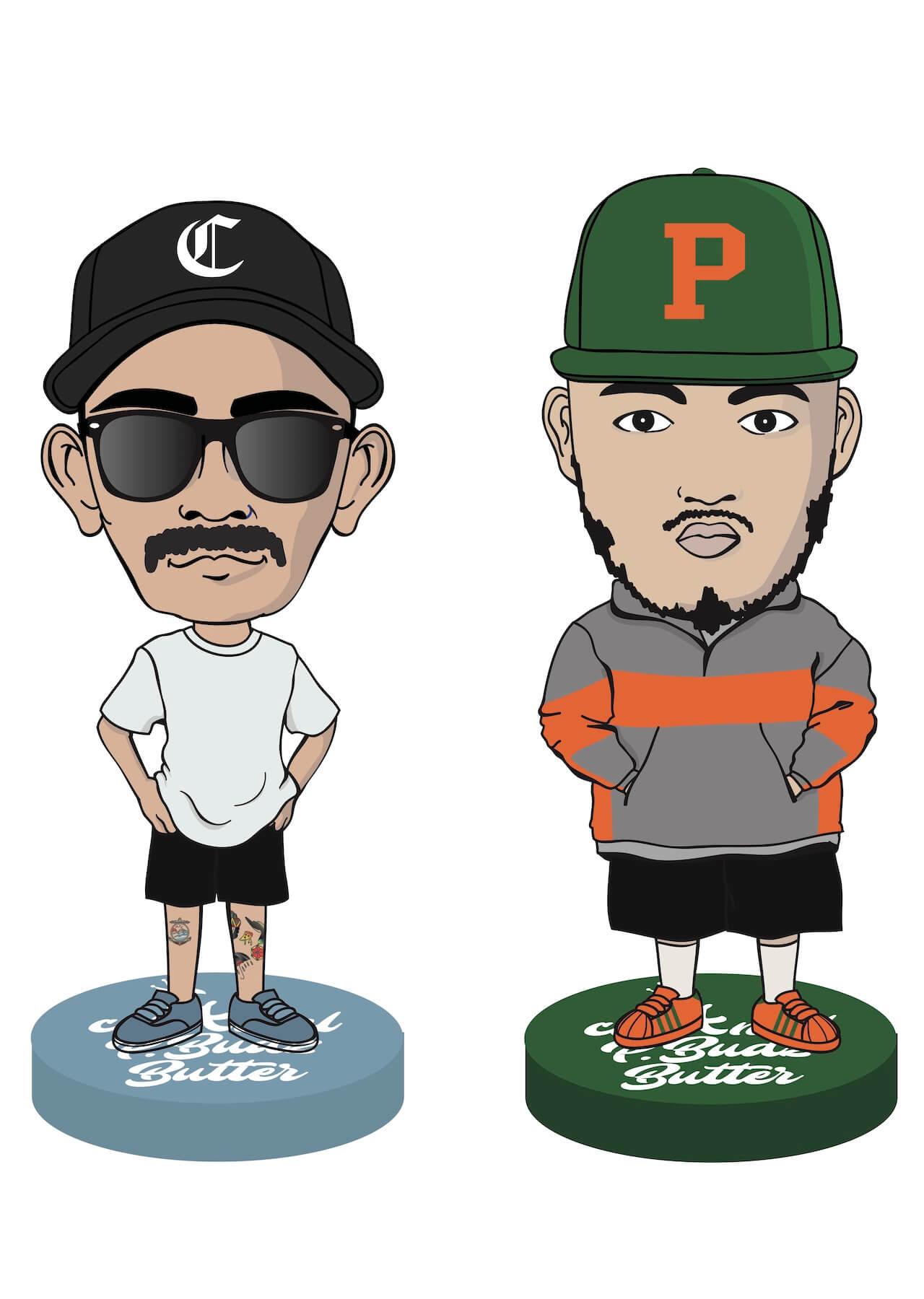 DJ POMとCamel Beatsによるビートプロジェクト<CaLAmel P.Budz Butter>が始動 music200620-calamel-pbudz-butter-1