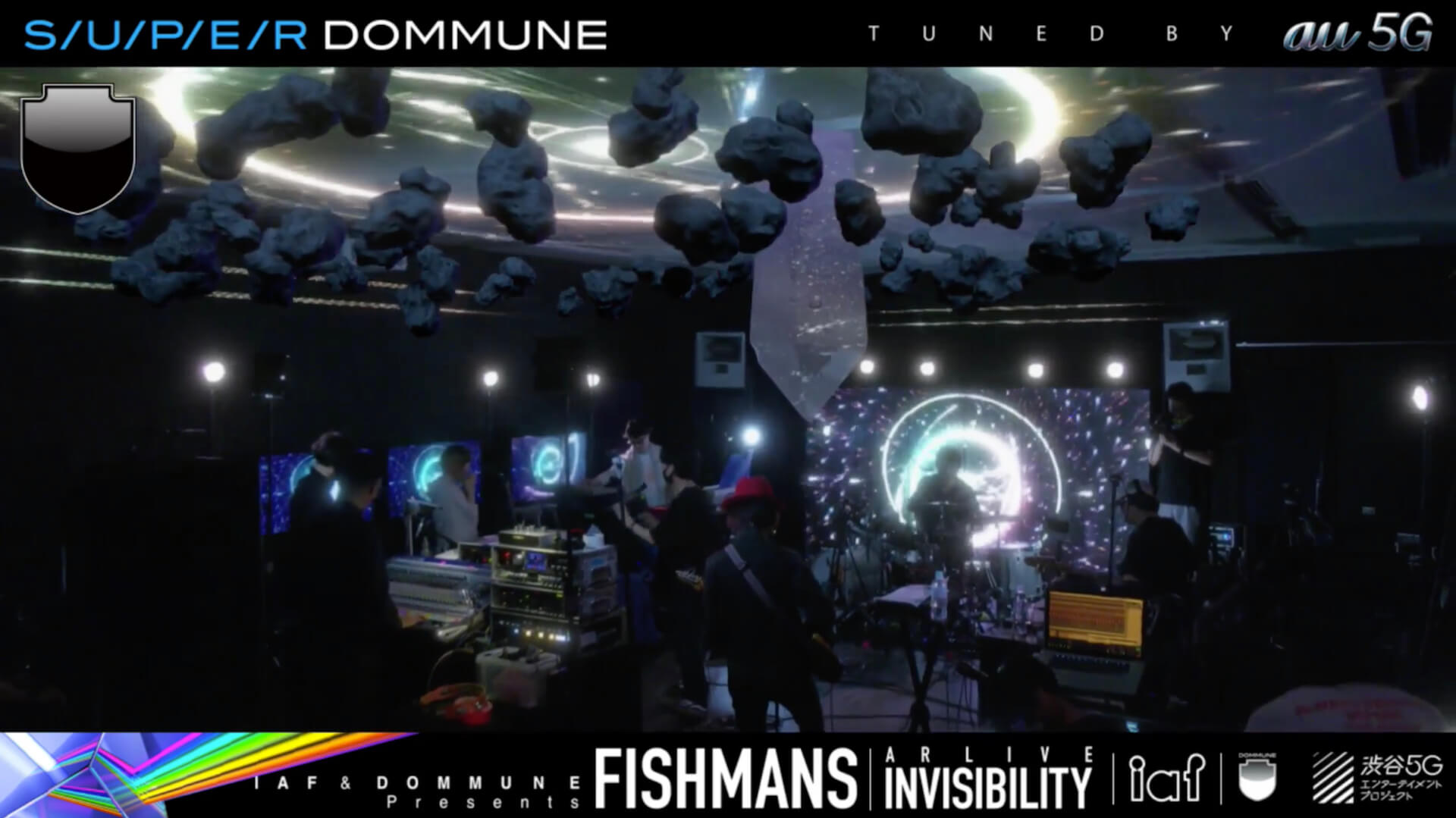 リアルとバーチャルのシナジーが生まれたFISHMANS AR LIVE<INVISIBILITY> music200622_fishmans_superdommune_6