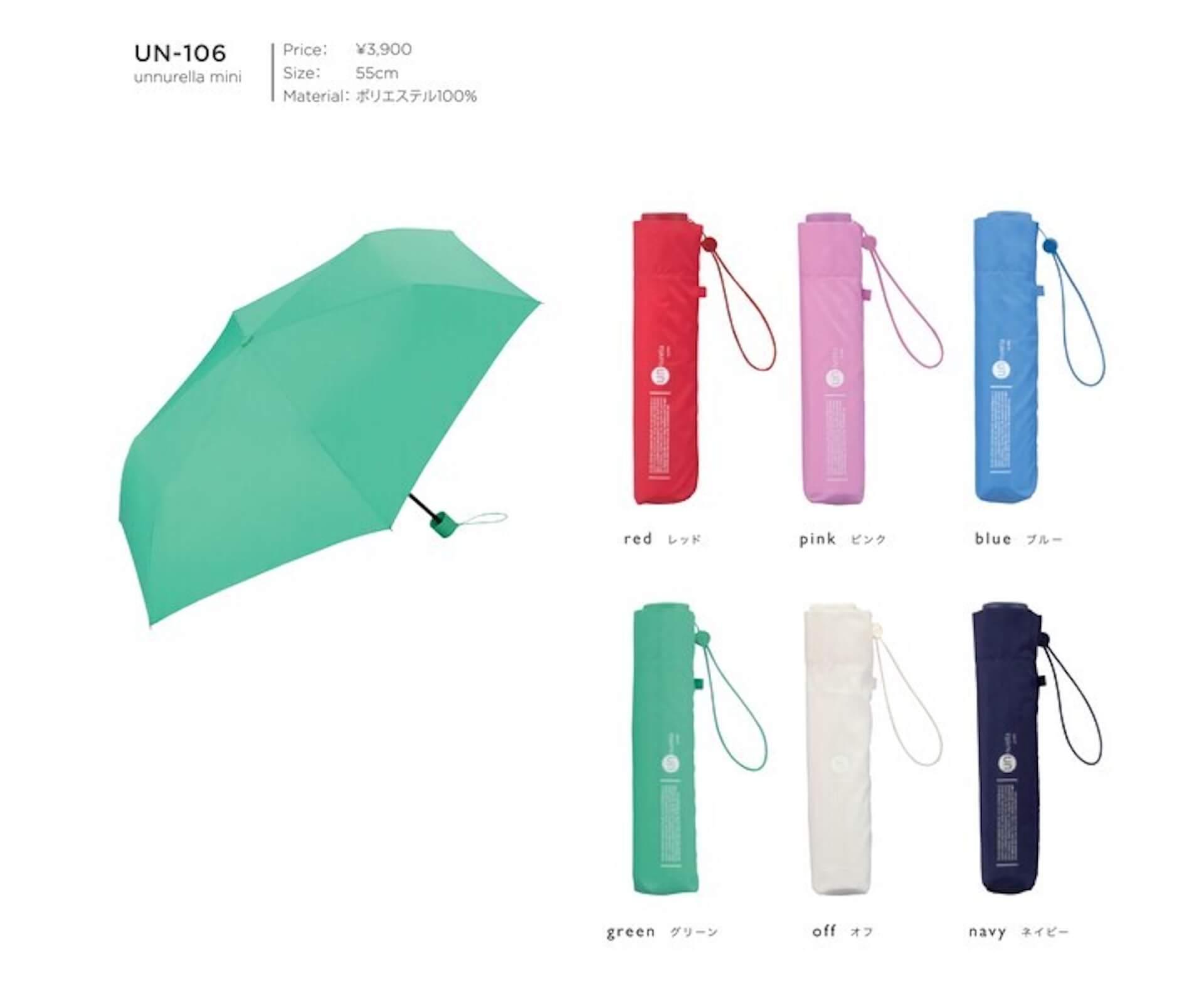 Wpc.(TM)から濡らさない傘『アンヌレラ』が登場!高いはっ水性・防水性で雨水が滴るのをガード lf200622_unnurella_wpc_06