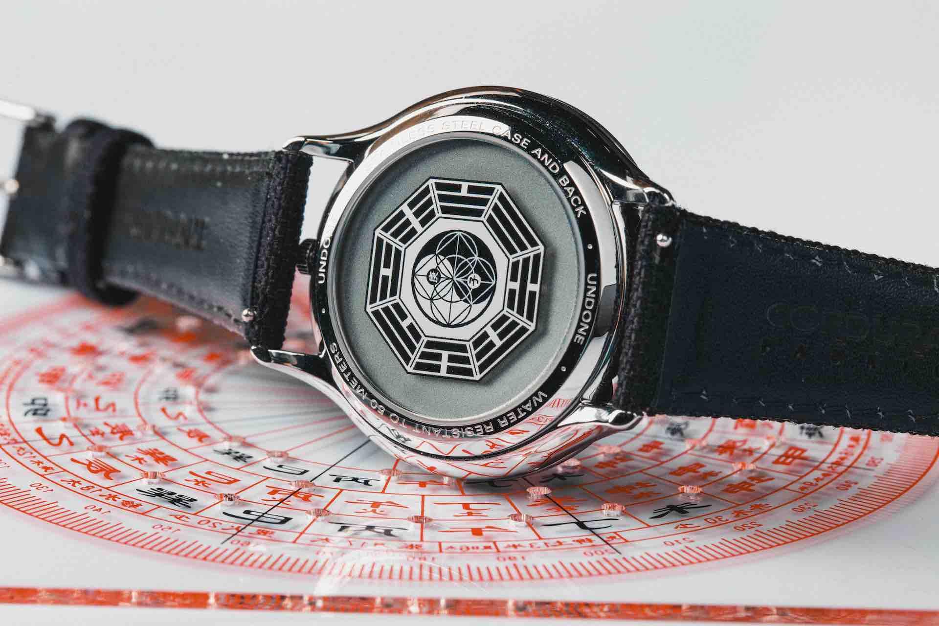 UNDONEから羅盤や風水コンパスを近代的にアレンジした腕時計が登場!ケースバックには十干十二支がプリント lf200623_undone_zen_03
