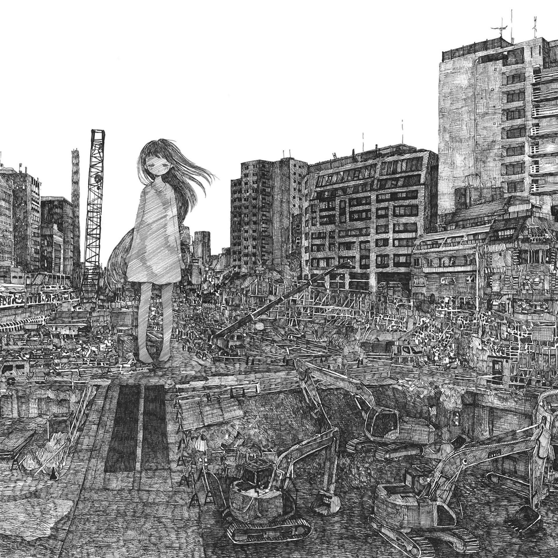 SUPER DOMMUNEにて配信されるDAOKOの4thアルバム『anima』リリース記念ARライブの詳細が公開! music200623_daoko_dommune_02