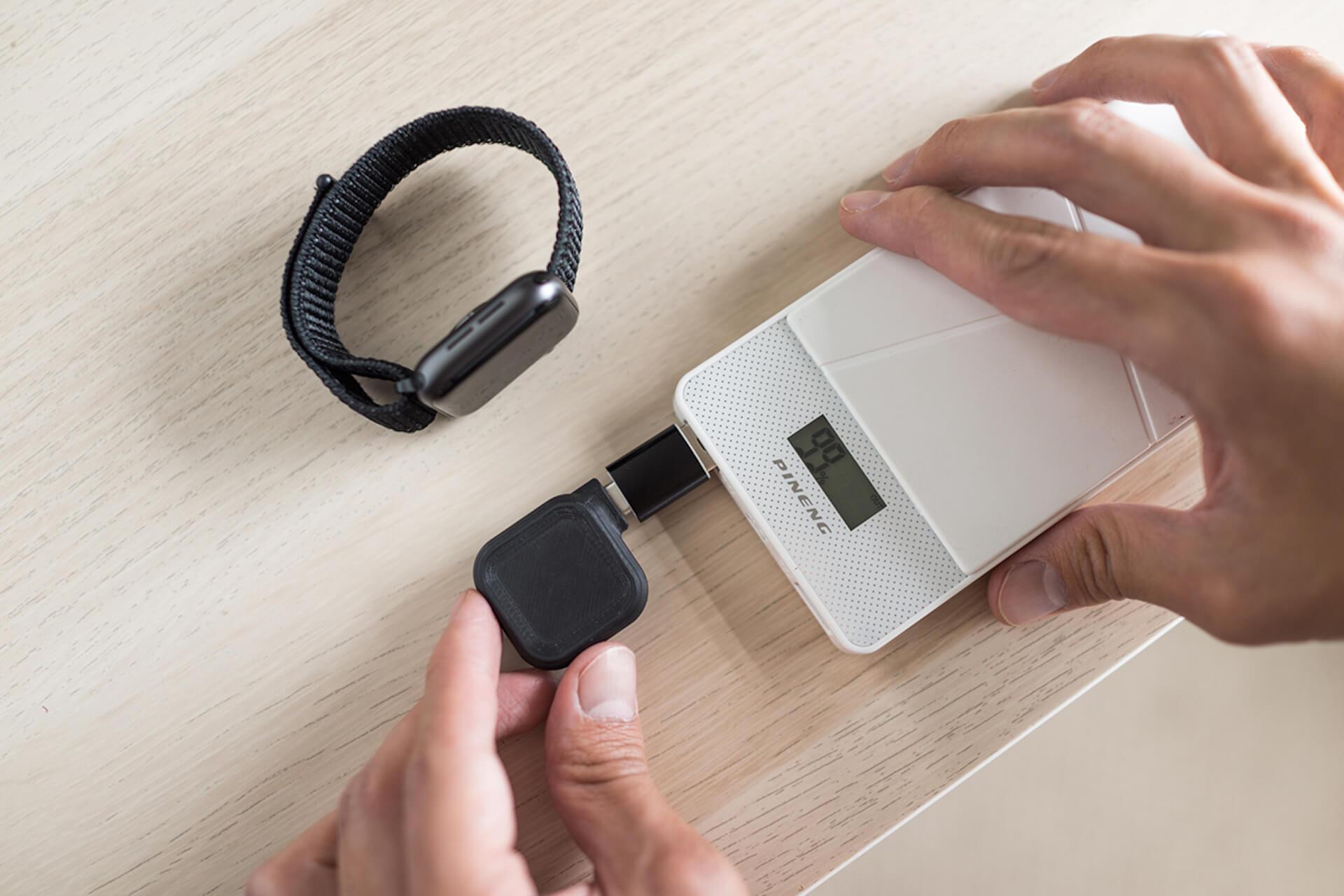 コインサイズのApple Watch専用充電器「MACO GO」がクラウドファンディング「Makuake」に登場! tech200624_macogo_6
