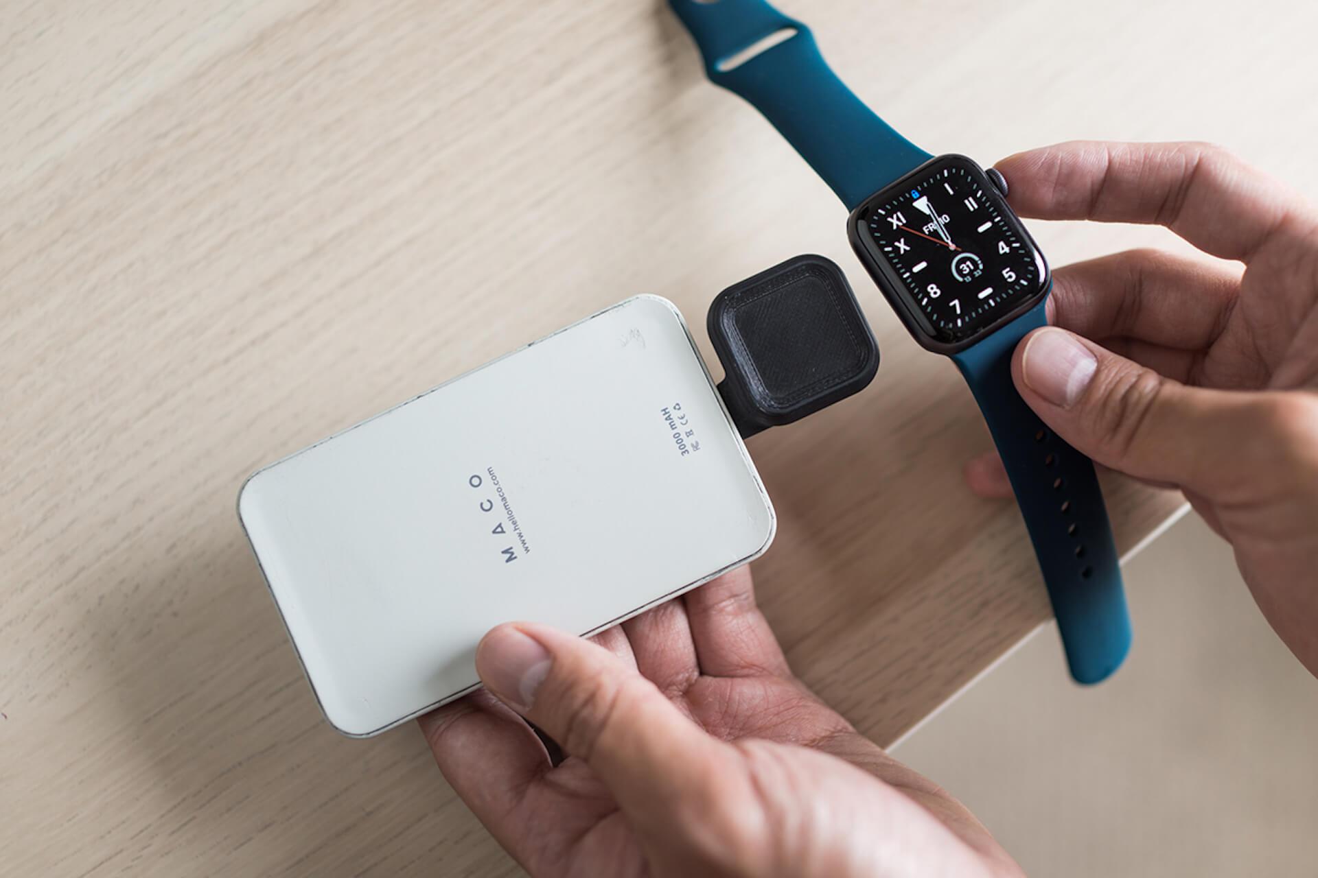 コインサイズのApple Watch専用充電器「MACO GO」がクラウドファンディング「Makuake」に登場! tech200624_macogo_9