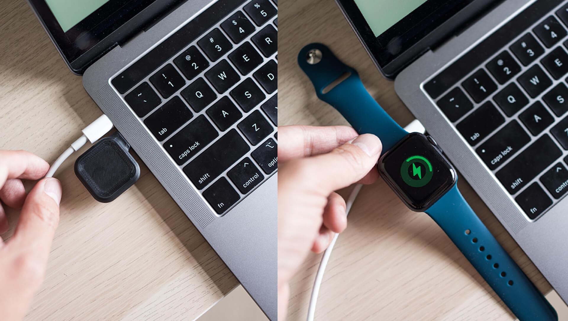 コインサイズのApple Watch専用充電器「MACO GO」がクラウドファンディング「Makuake」に登場! tech200624_macogo_10