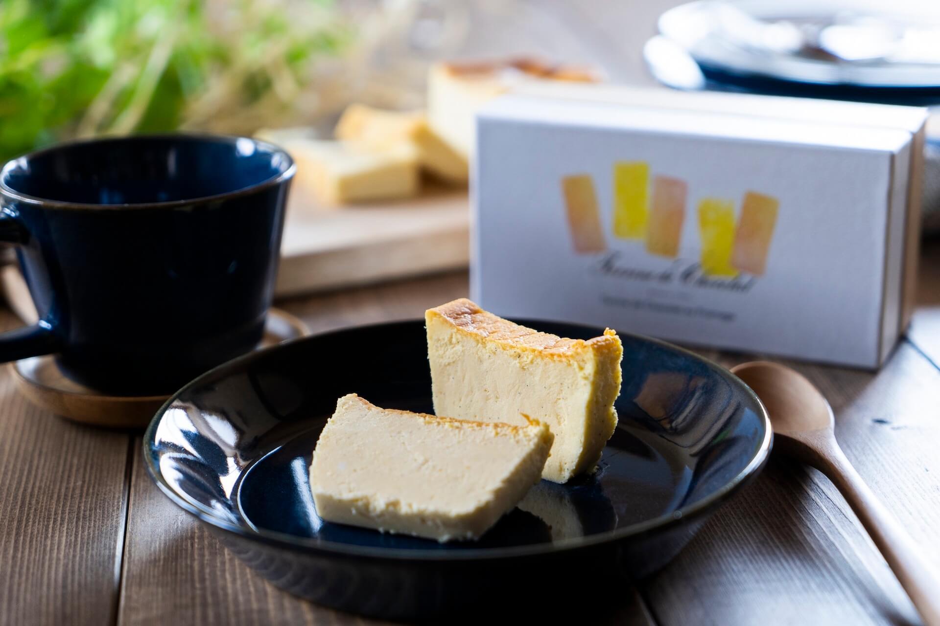 ベイク、レアチーズ2つの食感が楽しめるフロマージュがル コキヤージュの「テリーヌ ドゥ ショコラシリーズ」に新登場! gourmet_terrinedechocolat_01