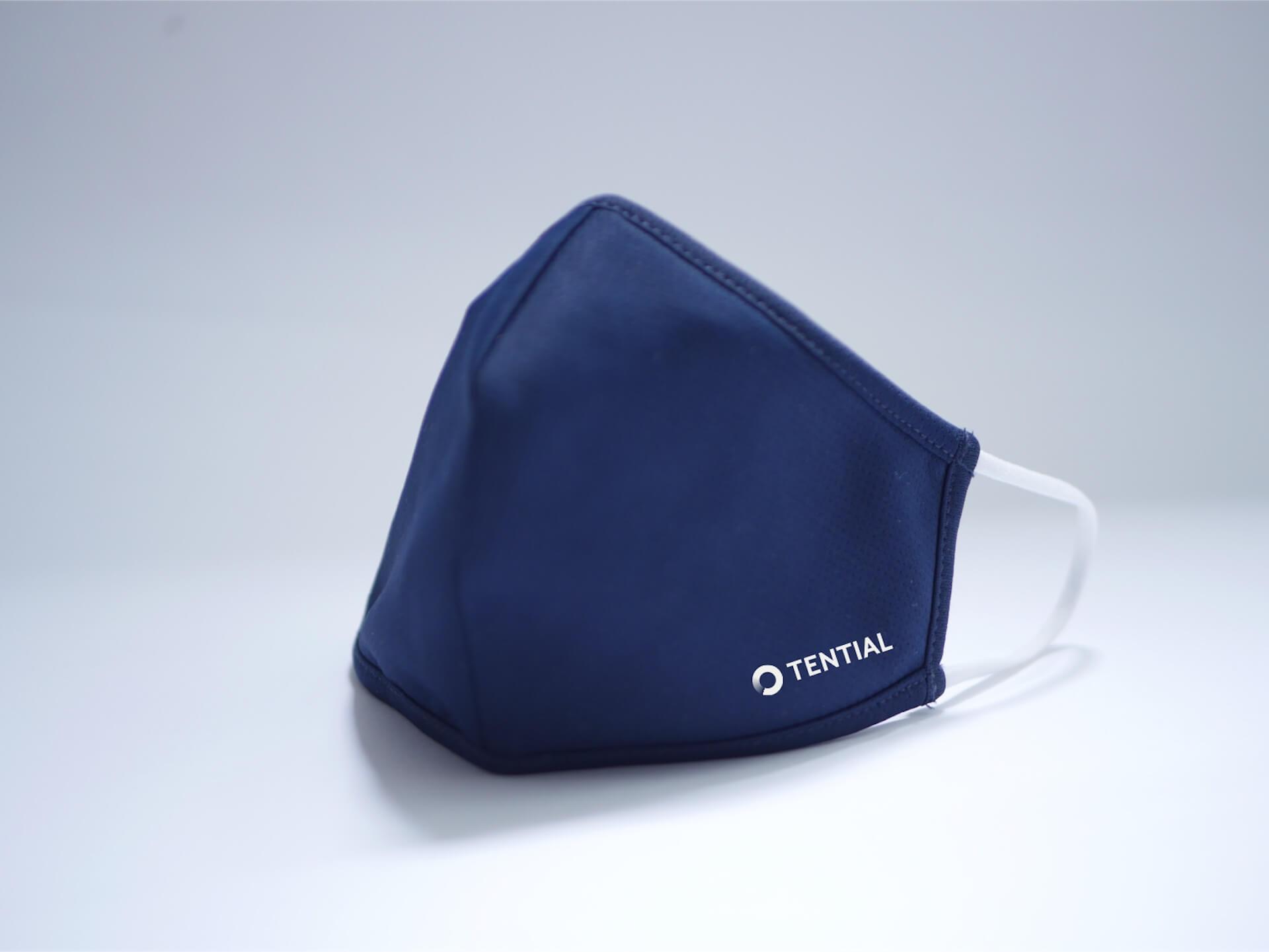 通気性、吸水速乾性に優れた『TENTIAL MASK』が数量限定で予約販売中!スポーツウェアの素材を使用 lf200625_tential_mask_01