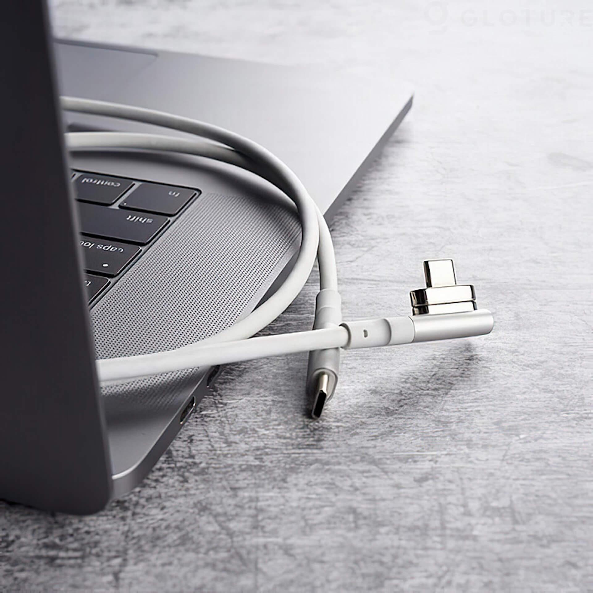 USB-Cのコネクタ同士をマグネットで引き寄せる!「HBLINK Magnet USB-C ケーブル」がGLOTURE.JPに登場 tech200625_usbc_cable_4