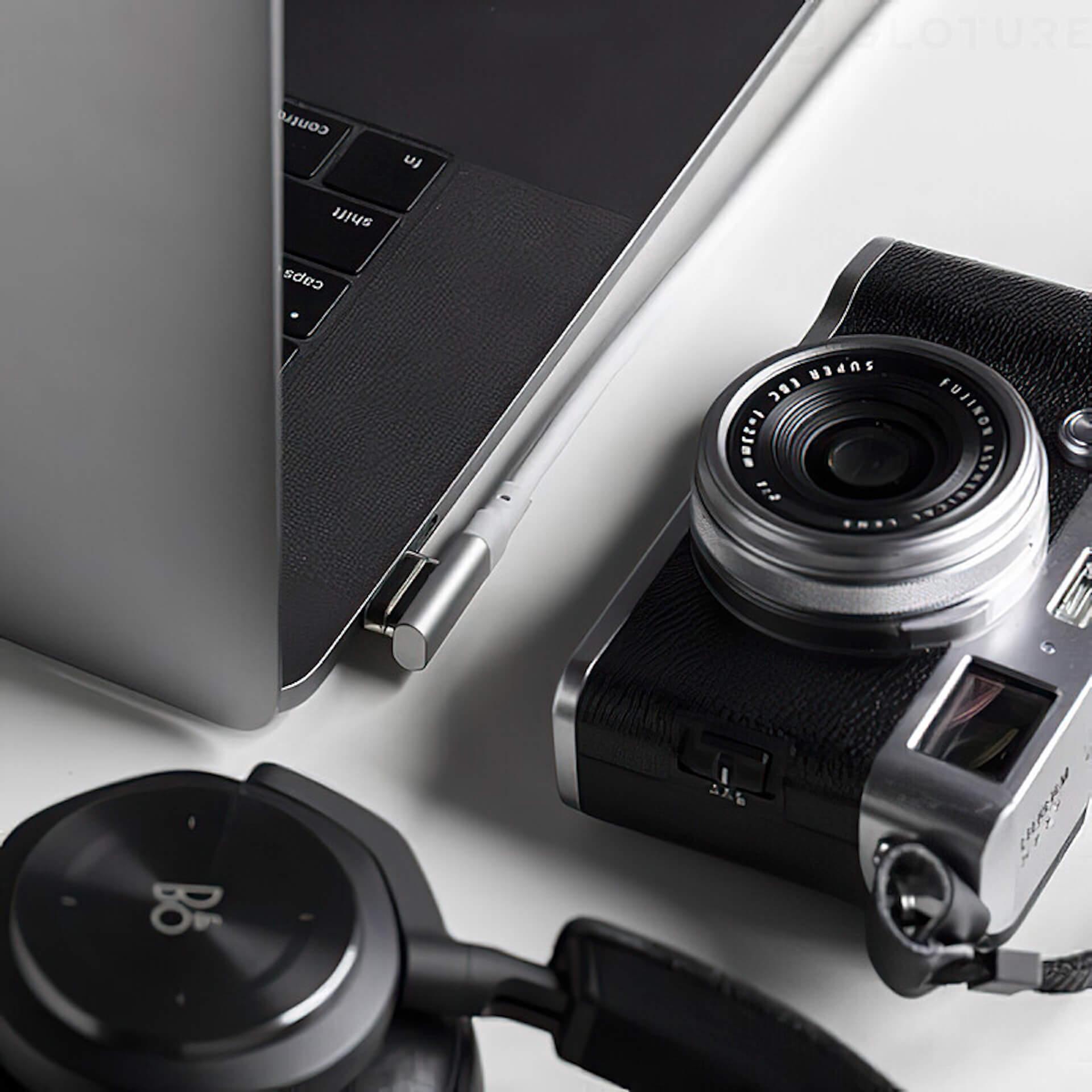USB-Cのコネクタ同士をマグネットで引き寄せる!「HBLINK Magnet USB-C ケーブル」がGLOTURE.JPに登場 tech200625_usbc_cable_5