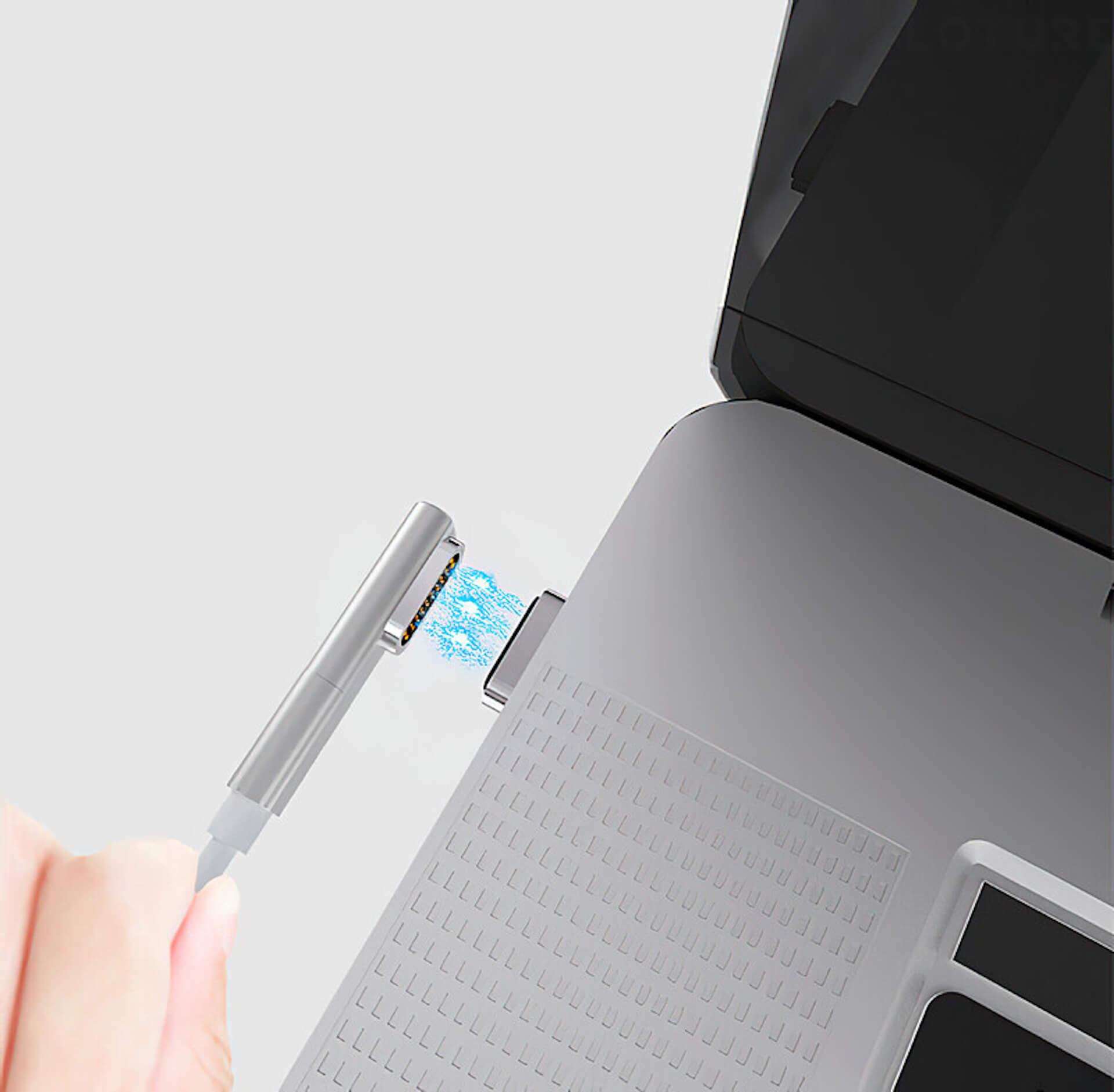 USB-Cのコネクタ同士をマグネットで引き寄せる!「HBLINK Magnet USB-C ケーブル」がGLOTURE.JPに登場 tech200625_usbc_cable_8