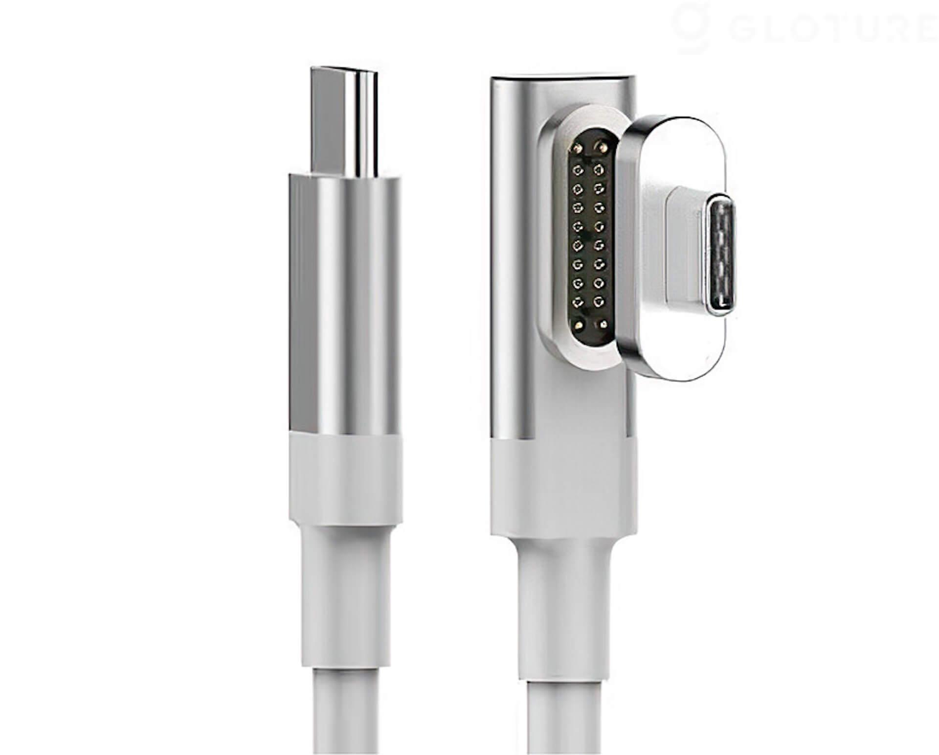 USB-Cのコネクタ同士をマグネットで引き寄せる!「HBLINK Magnet USB-C ケーブル」がGLOTURE.JPに登場 tech200625_usbc_cable_13