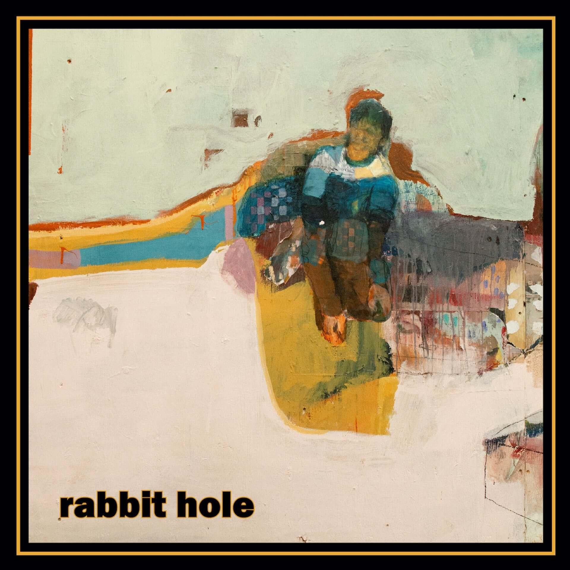 """Gilles PetersonやJamie Cullumも絶賛する音楽家・Bastien Kebが新たなサイケデリック・フォーク""""Rabbit Hole""""をリリース! music200626_bastien_keb_1-1920x1920"""